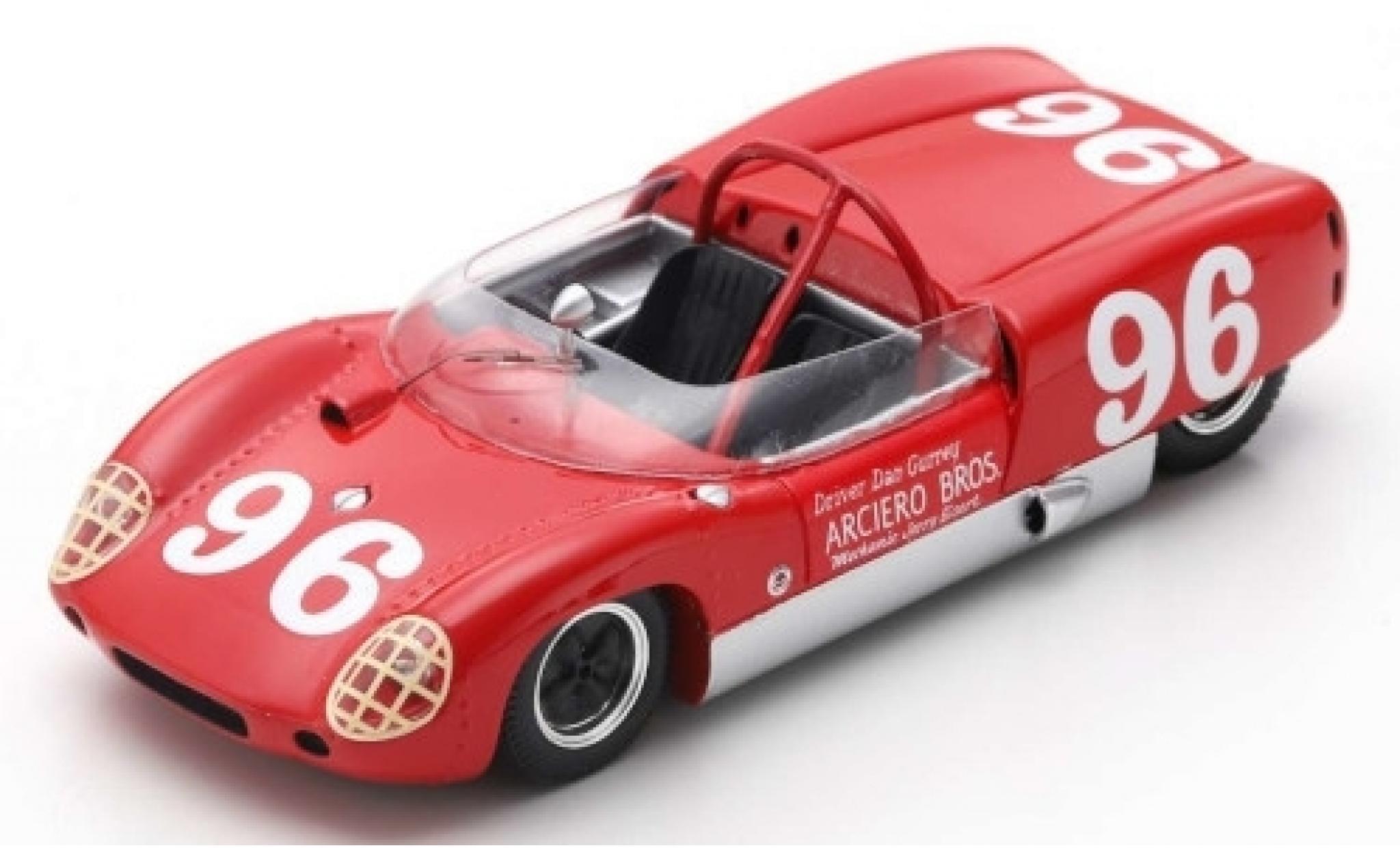 Lotus 19 1/43 Spark RHD No.96 Daytona 62 D.Gurney
