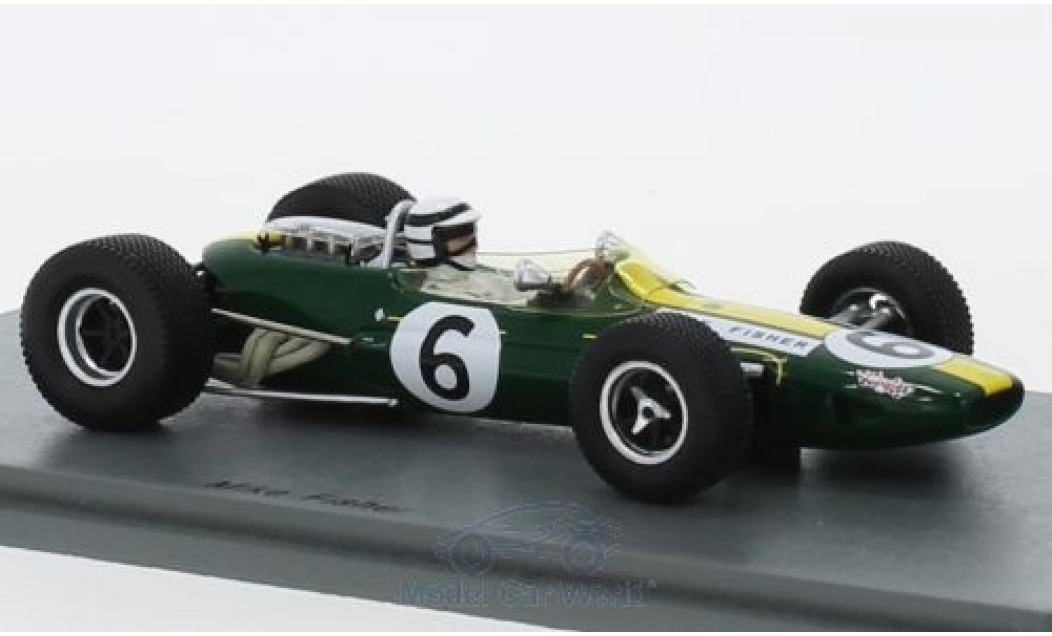 Lotus 33 1/43 Spark No.6 Formel 1 GP Kanada 1967 M.Fisher