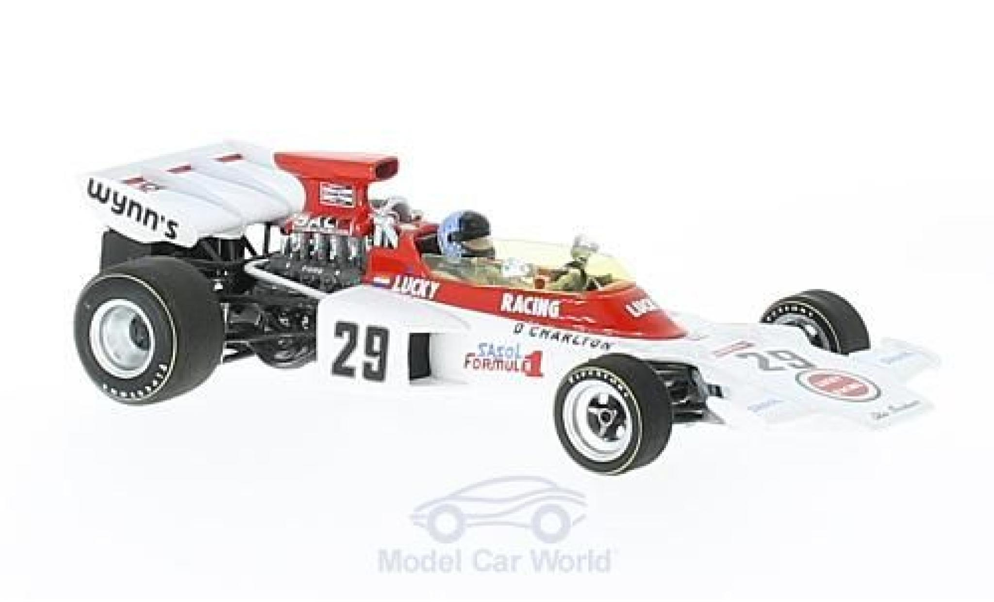 Lotus 72 1/43 Spark D No.29 Scribante Lucky Strike Racing Lucky Strike Formel 1 GP England 19 mit Decals D.Charlton