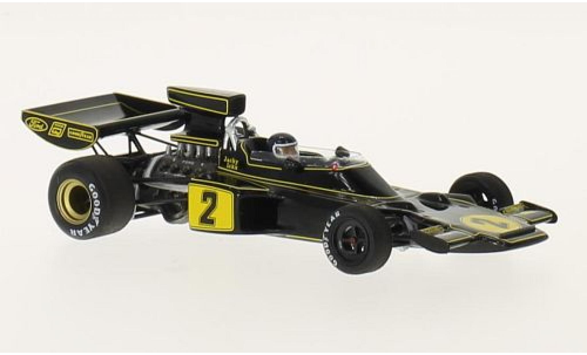 Lotus 72 1/43 Spark E No.2 John Player Special Race of Champions 1974 avec Decals J.Ickx
