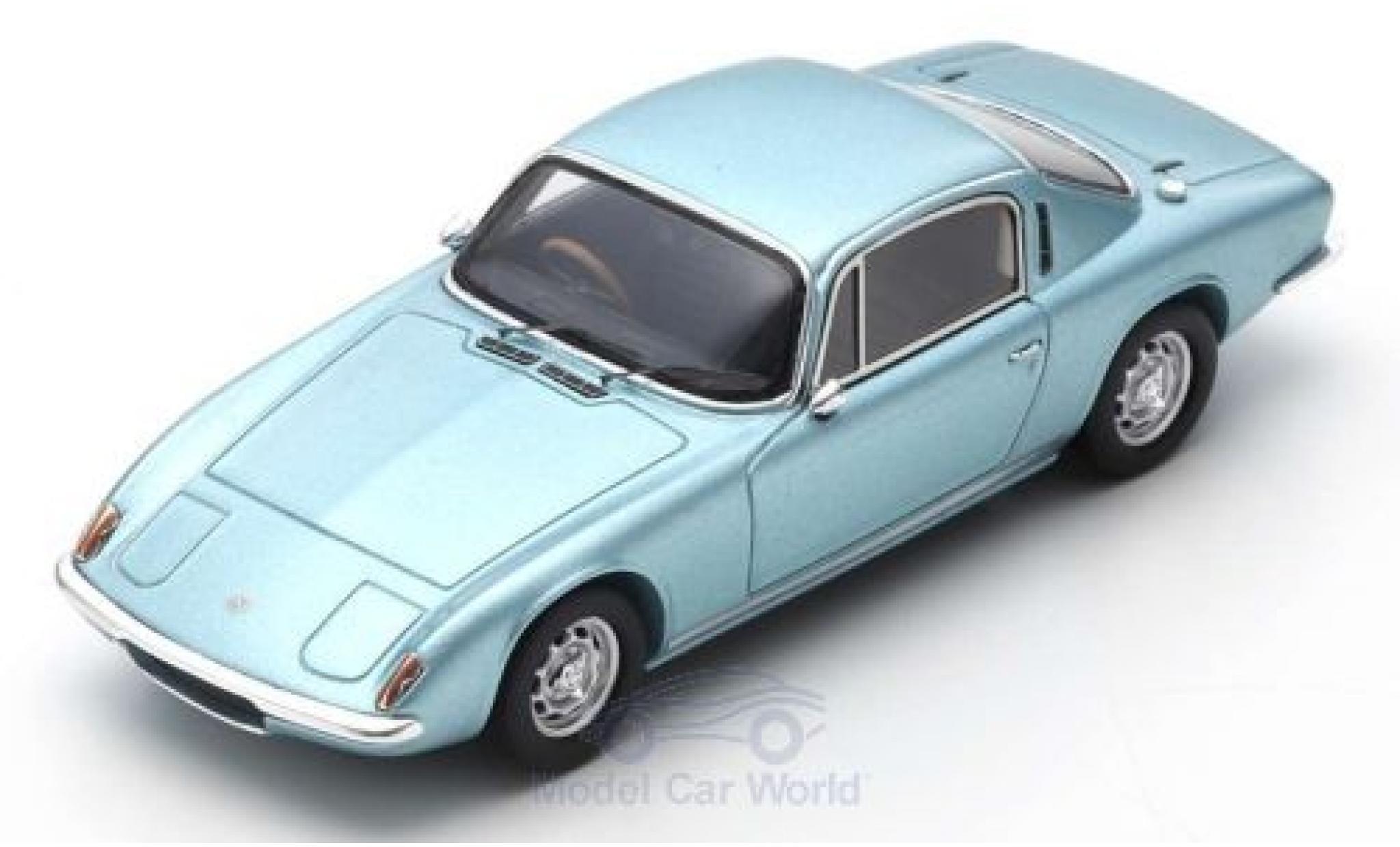 Lotus Elan 1/43 Spark +2 métallisé bleue RHD 1967