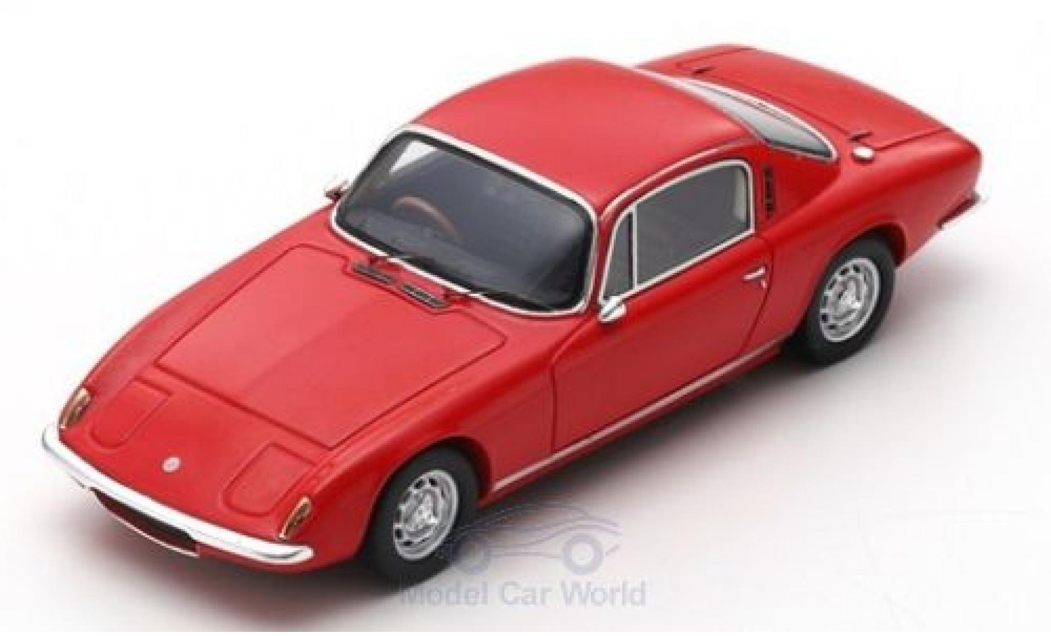 Lotus Elan 1/43 Spark +2 red RHD 1967
