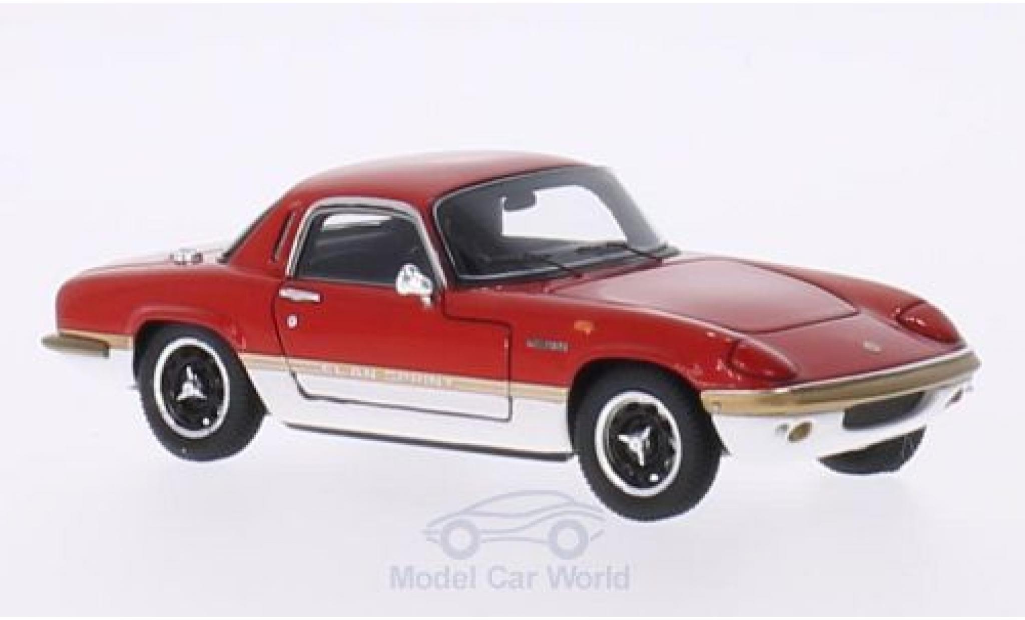 Lotus Elan 1/43 Spark Sprint FHC rouge/blanche RHD 1971