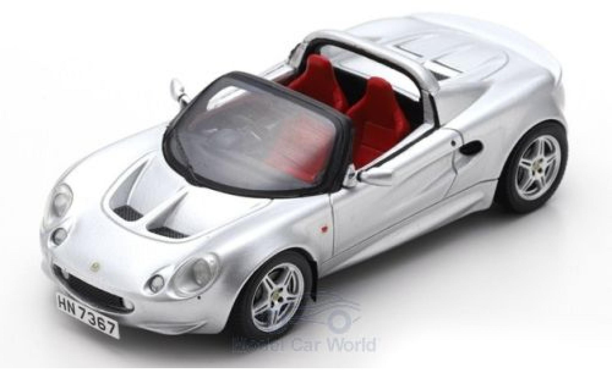 Lotus Elise 1/43 Spark S1 silber RHD 1996