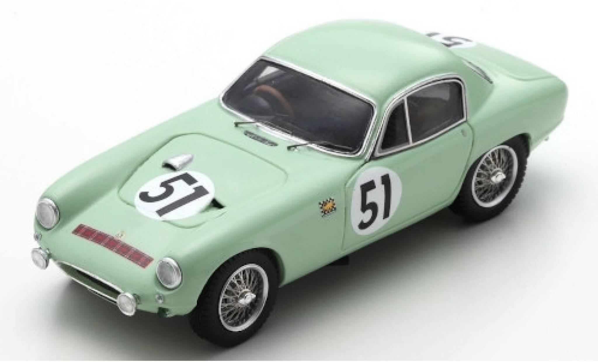 Lotus Elite 1/43 Spark RHD No.51 24h Le Mans 1961 C.Allison/M.Mckee