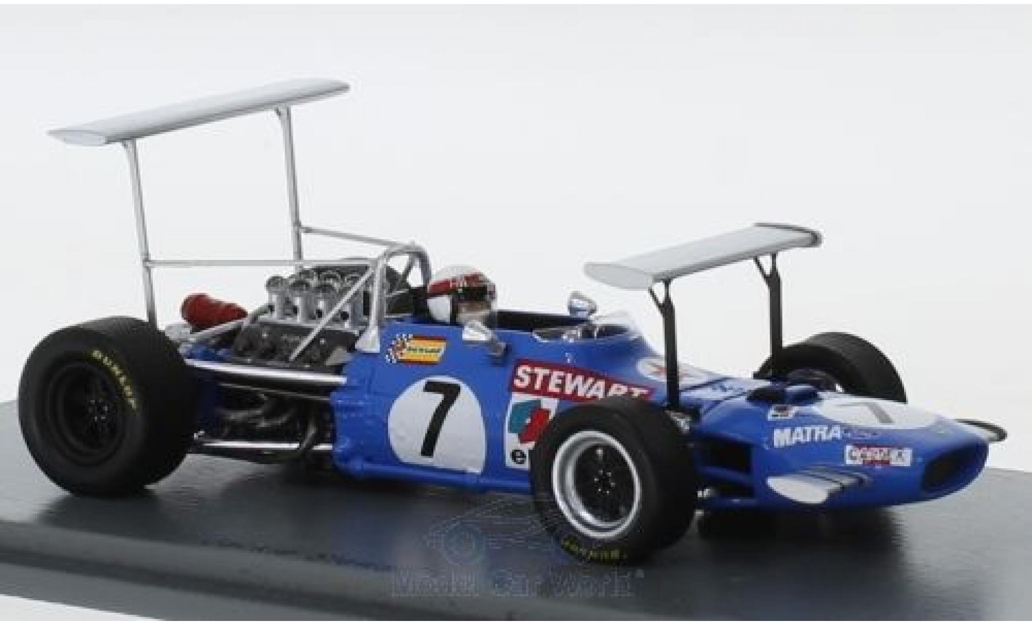 Matra MS1 1/43 Spark 0 No.7 Formel 1 GP South Afrika 1969 J.Stewart