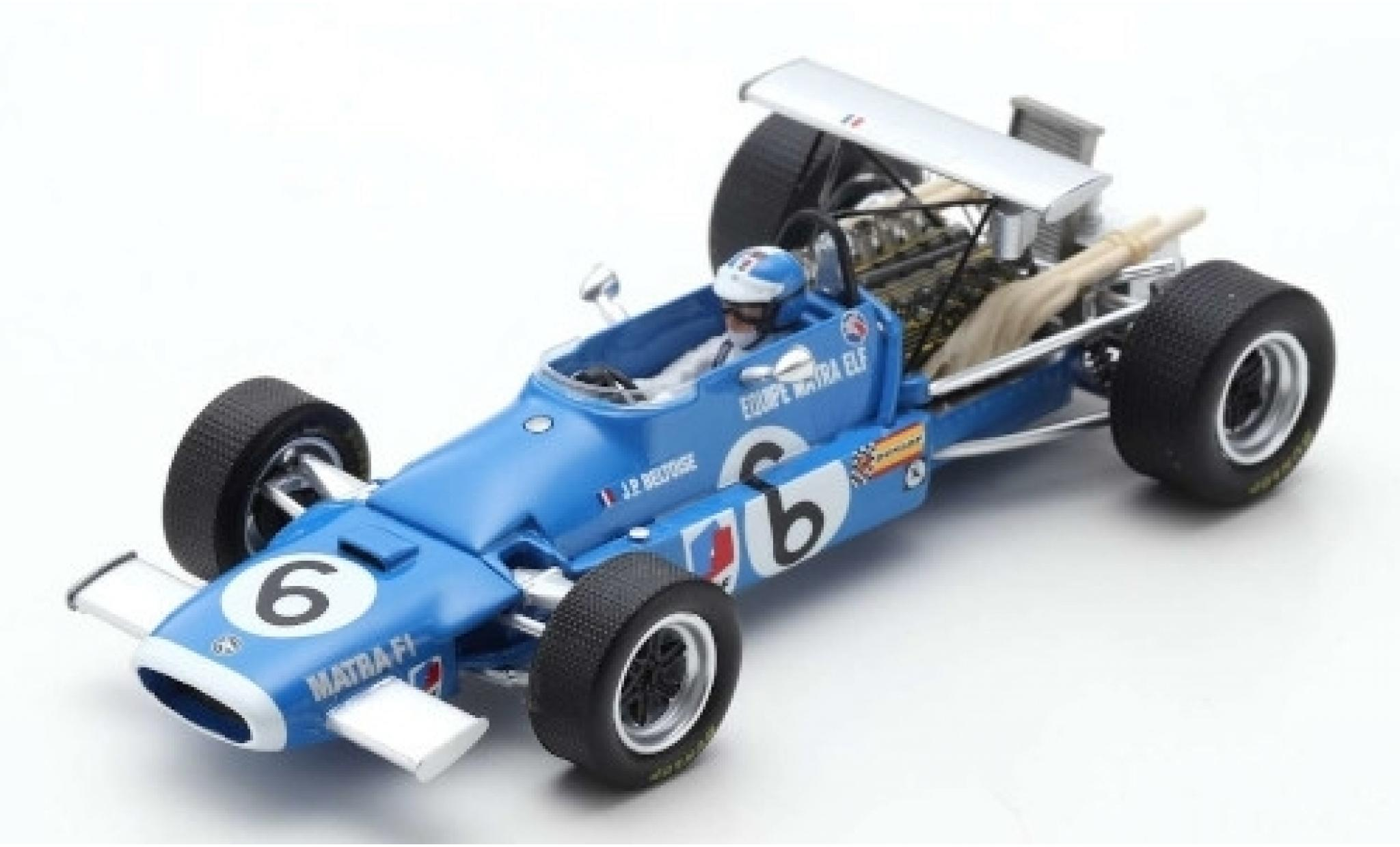 Matra MS1 1/43 Spark 1 No.6 Equipe Elf Formel 1 GP Italien 1968 J-P.Beltoise