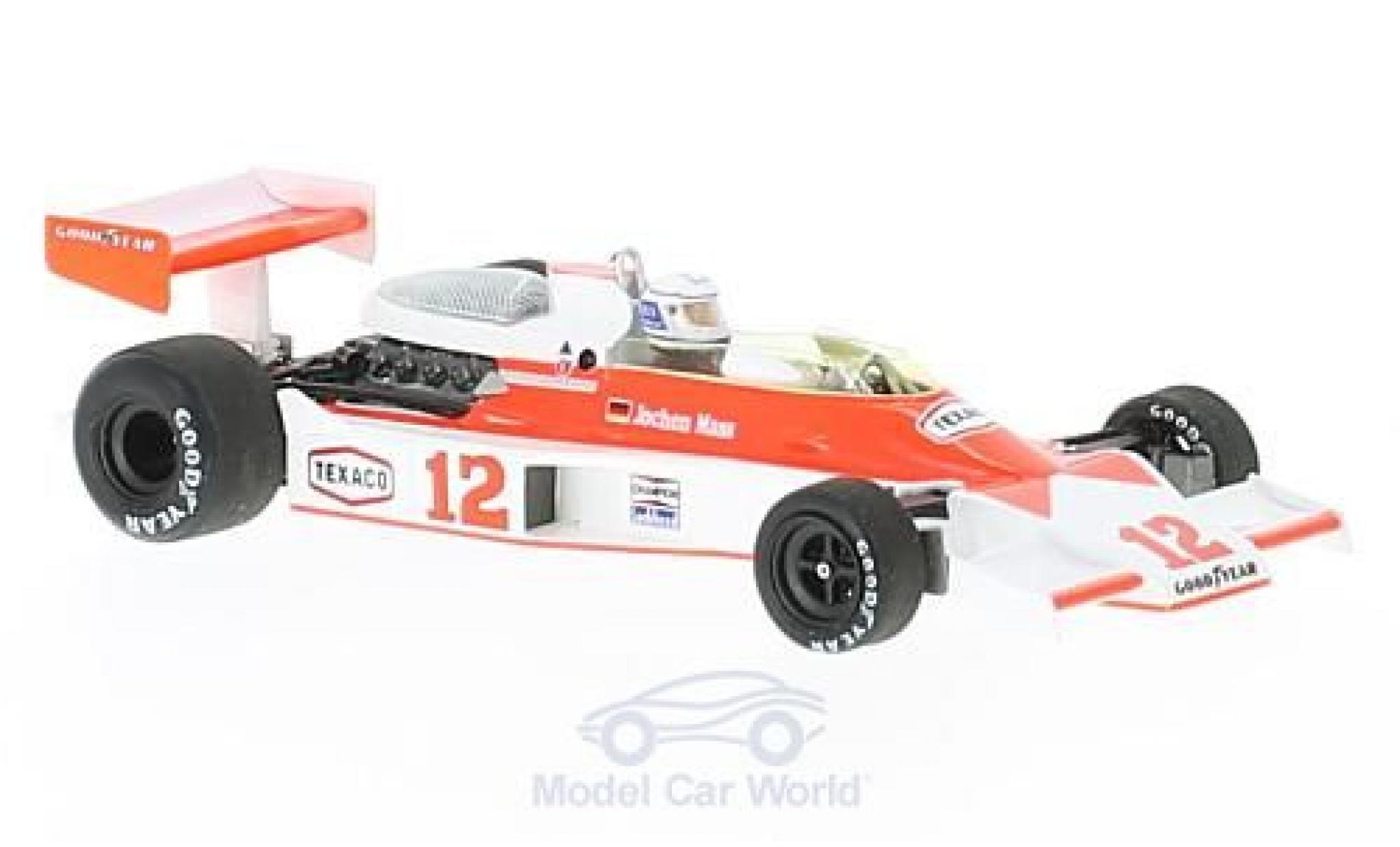 McLaren M23 1/43 Spark No.12 Marlboro Formel 1 GP Monaco 1976 mit Decals J.Mass