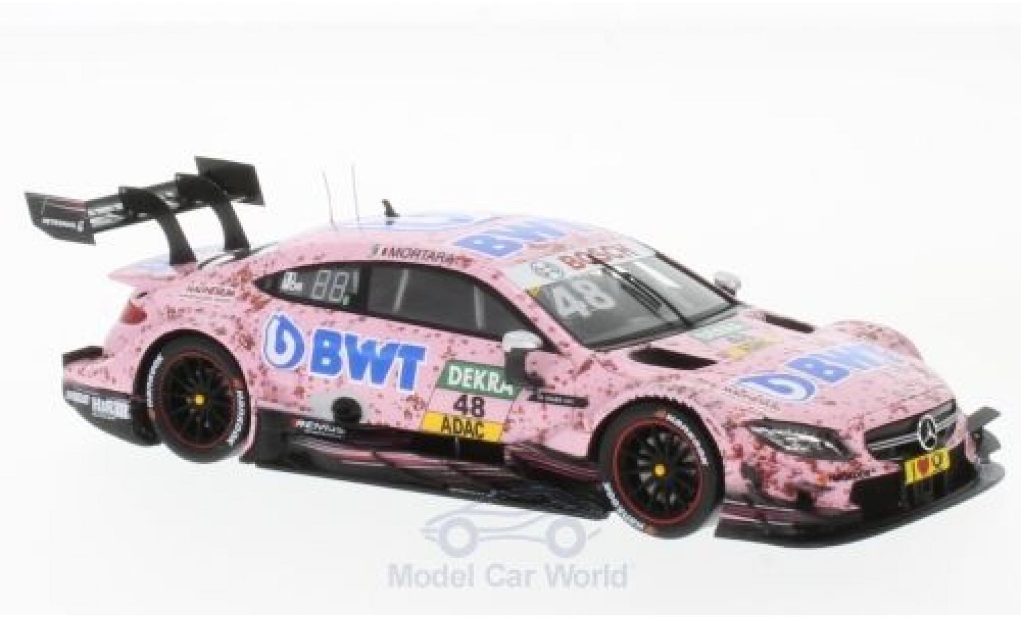 Mercedes Classe C DTM 1/43 Spark AMG C 63 No.48 -AMG Team HWA BWT 2017 E.Mortara