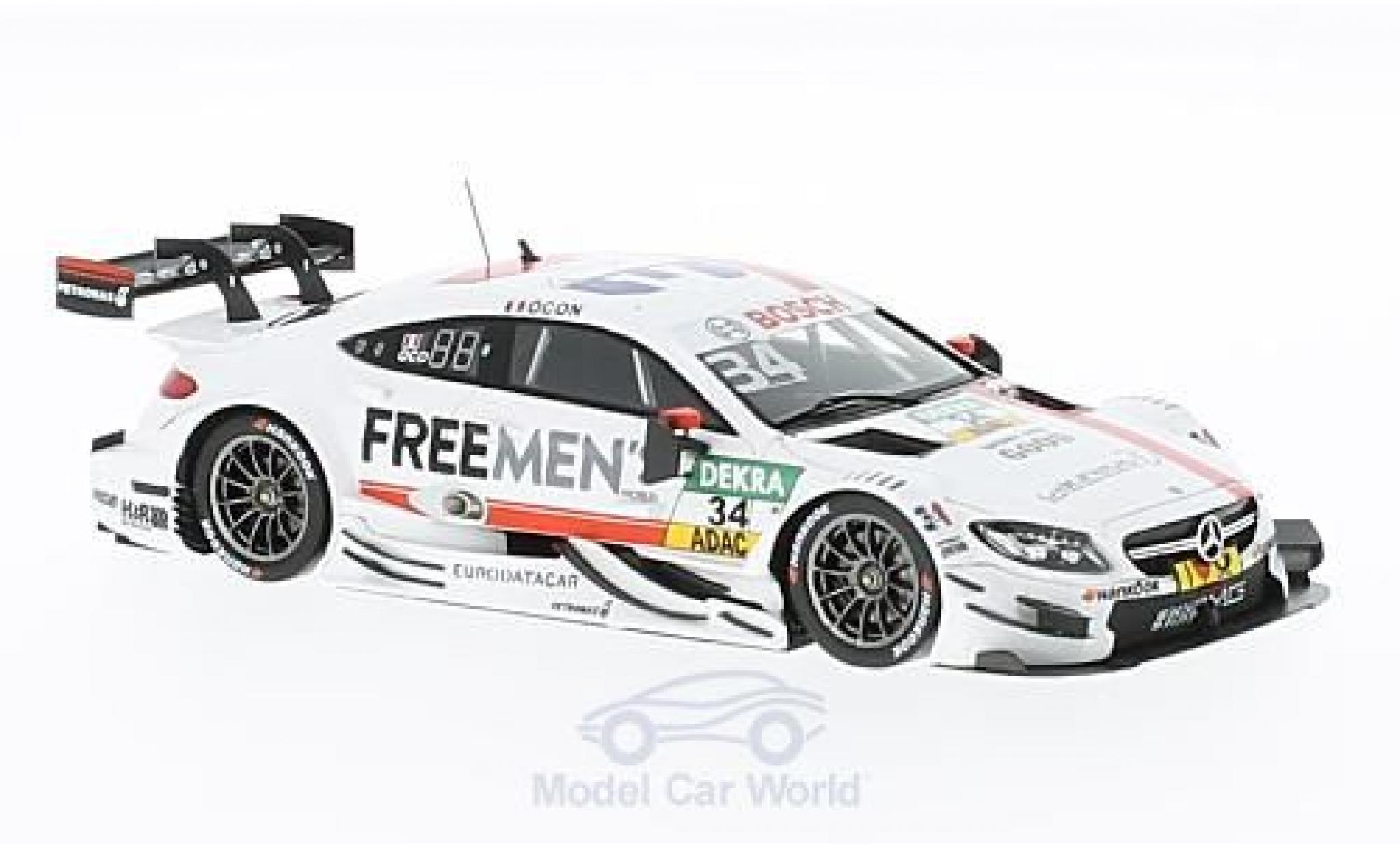 Mercedes Classe C DTM 1/43 Spark AMG C63 DTM No.34 -AMG DTM Team ART Freemens DTM 2016 E.Ocon