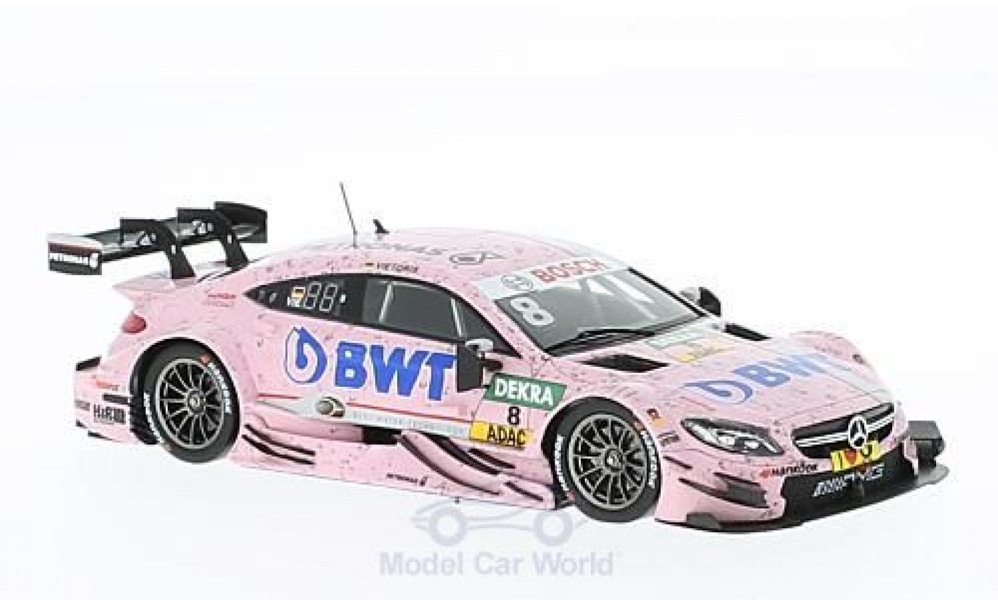 Mercedes Classe C DTM 1/43 Spark AMG C63 DTM No.8 -AMG DTM Team Mücke DTM 2016 C.Vietoris