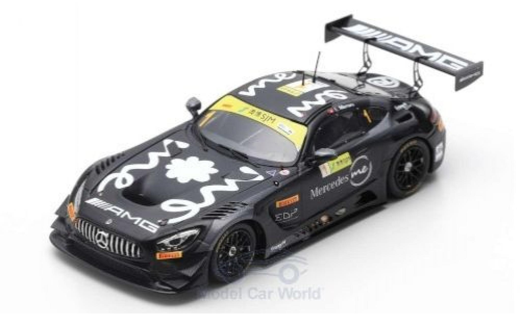 Mercedes AMG GT 1/18 Spark 3 No.1 -AMG Team GruppeM Racing Fia GT World Cup Macau 2018 E.Mortara