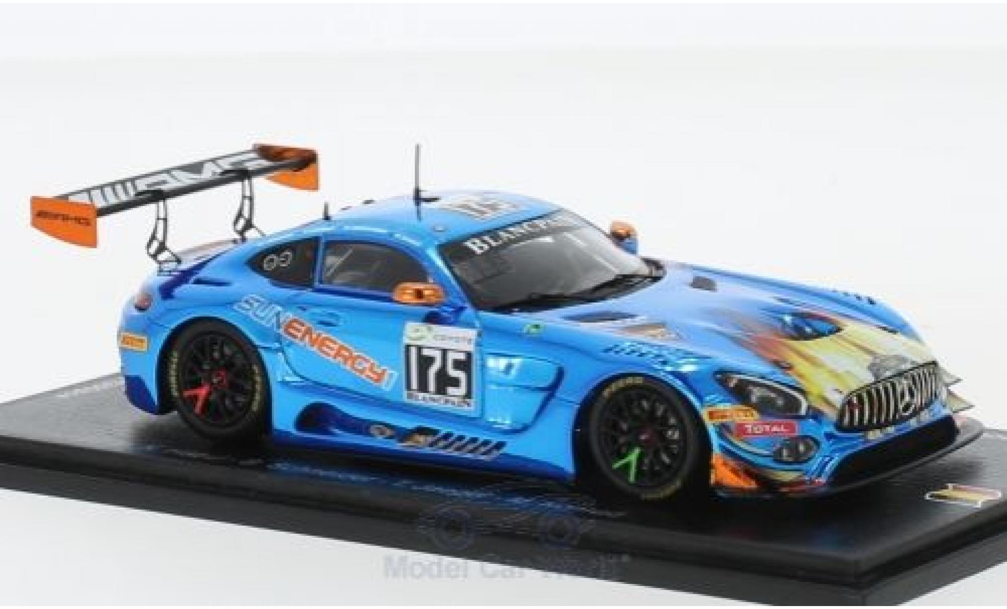 Mercedes AMG GT 1/43 Spark 3 No.175 Sun Energy 1 Team HTP Motorsport 24h Spa 2018 K.Habul/B.Schneider/T.Jäger/M.Konrad