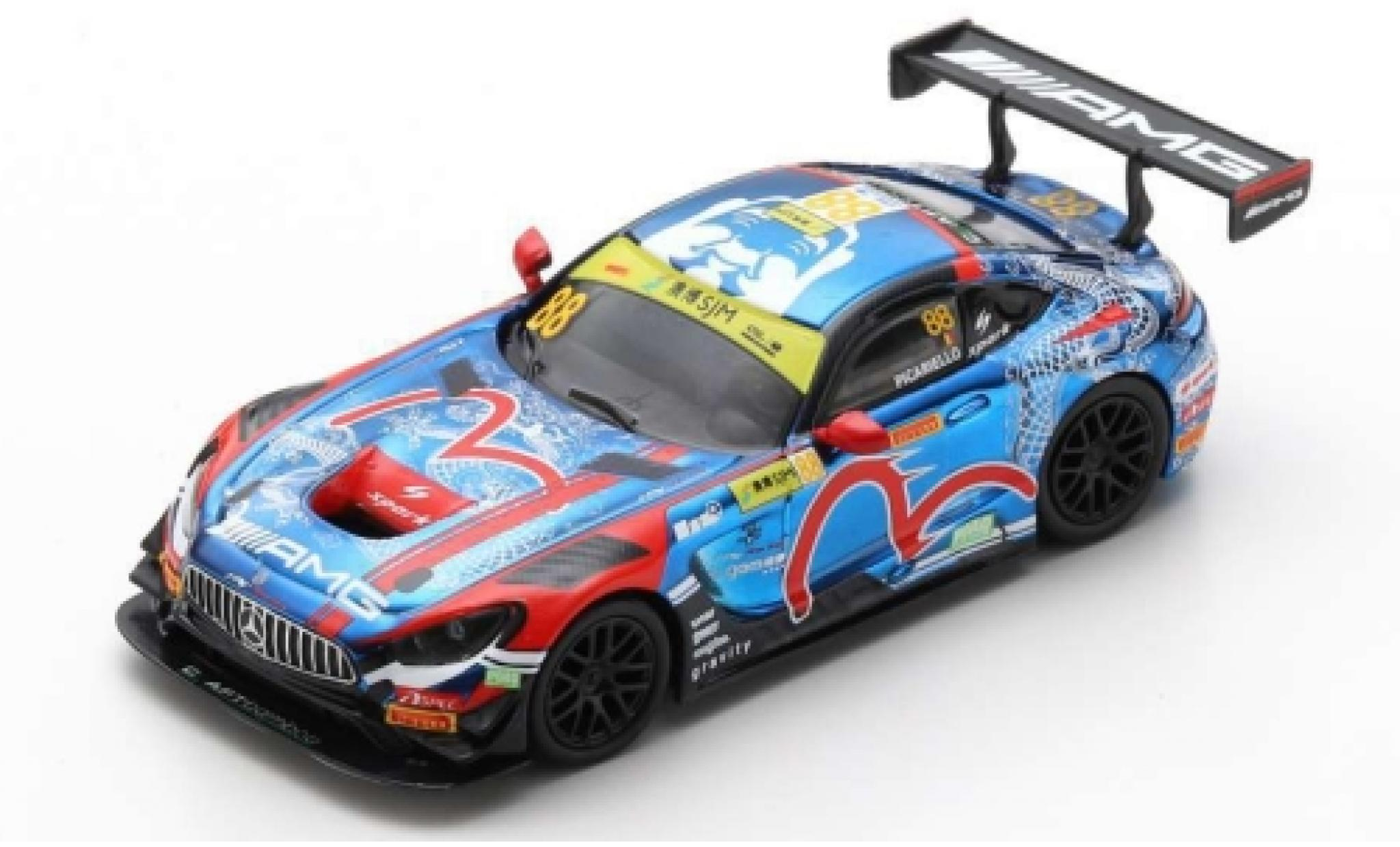 Mercedes AMG GT 1/64 Spark 3 No.88 -AMG Team CraftBamboo Racing Fia GT World Cup Macau 2019 A.Picariello