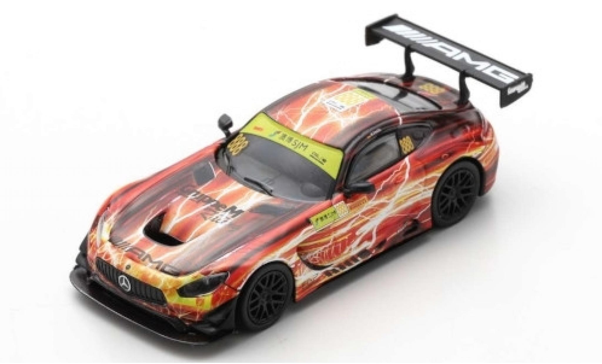 Mercedes AMG GT 1/43 Spark 3 No.888 -AMG Team GruppeM Racing Fia GT World Cup Macau 2019 M.Engel