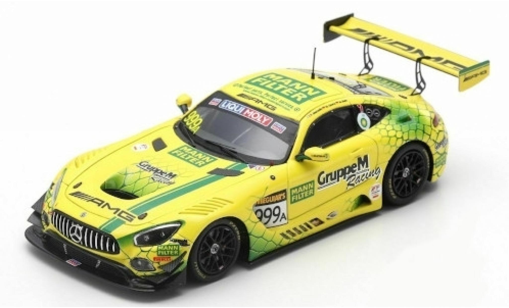 Mercedes AMG GT 1/43 Spark 3 No.999 AMG Team GruppeM Racing 12h Bathurst 2019 M.Buhk/R.Marciello/M.Götz