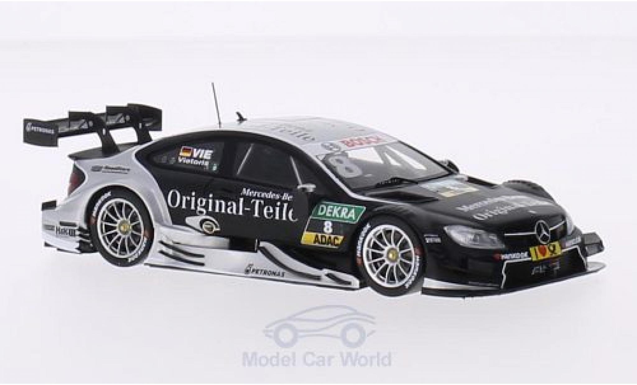 Mercedes Classe C DTM 1/43 Spark C63 AMG DTM No.8 -Benz Original-Teile DTM C.Vietoris
