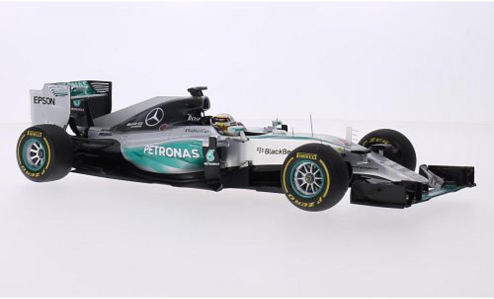 Mercedes F1 1/18 Spark W06 Hybrid No.44 AMG Petronas Formula One Team Petronas Formel 1 GP USA 2015 y compris les Hinblanchechild L.Hamilton