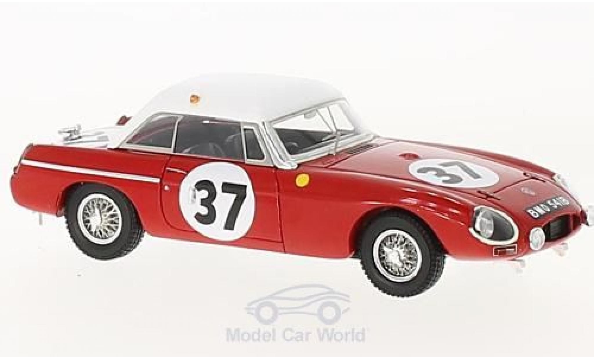 MG B 1/43 Spark RHD No.37 ritish Motor Corporation 24h Le Mans 1964 P.Hopkirk/A.Hedges