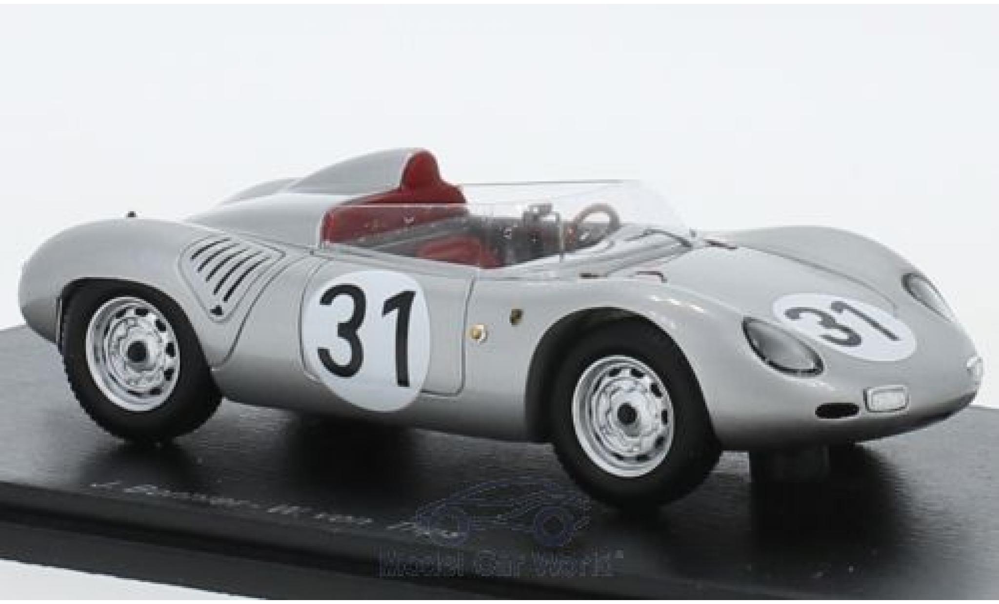 Porsche 718 1959 1/43 Spark RSK No.31 24h Le Mans 1959 J.Bonnier/W.von Trips