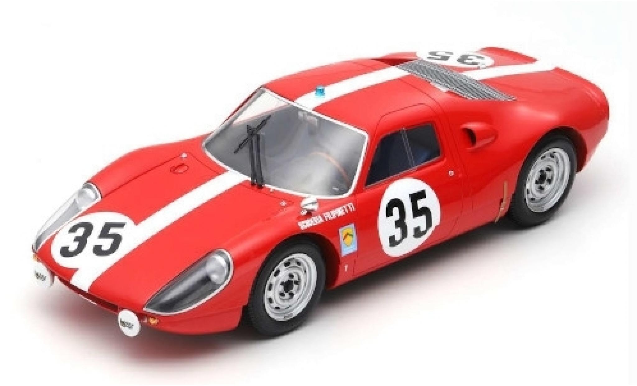 Porsche 904 1/12 Spark GTS No.35 Scuderia Filipinetti 24h Le Mans 1964 H.Müller/C.Sage