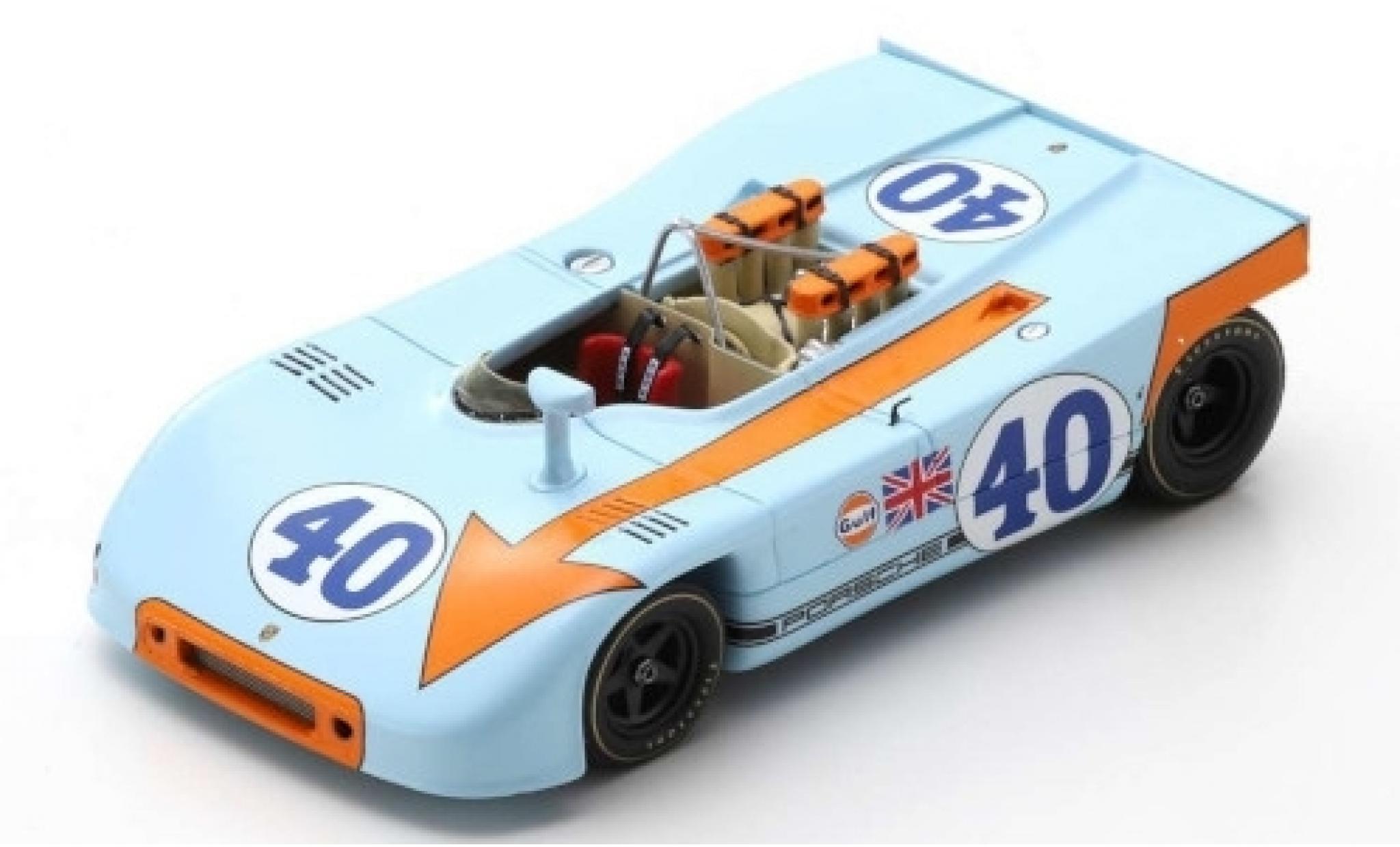 Porsche 908 1970 1/43 Spark /03 RHD No.40 J. W. Automotive Engineering Targa Florio P.Rodriguez/L.Kinnunen