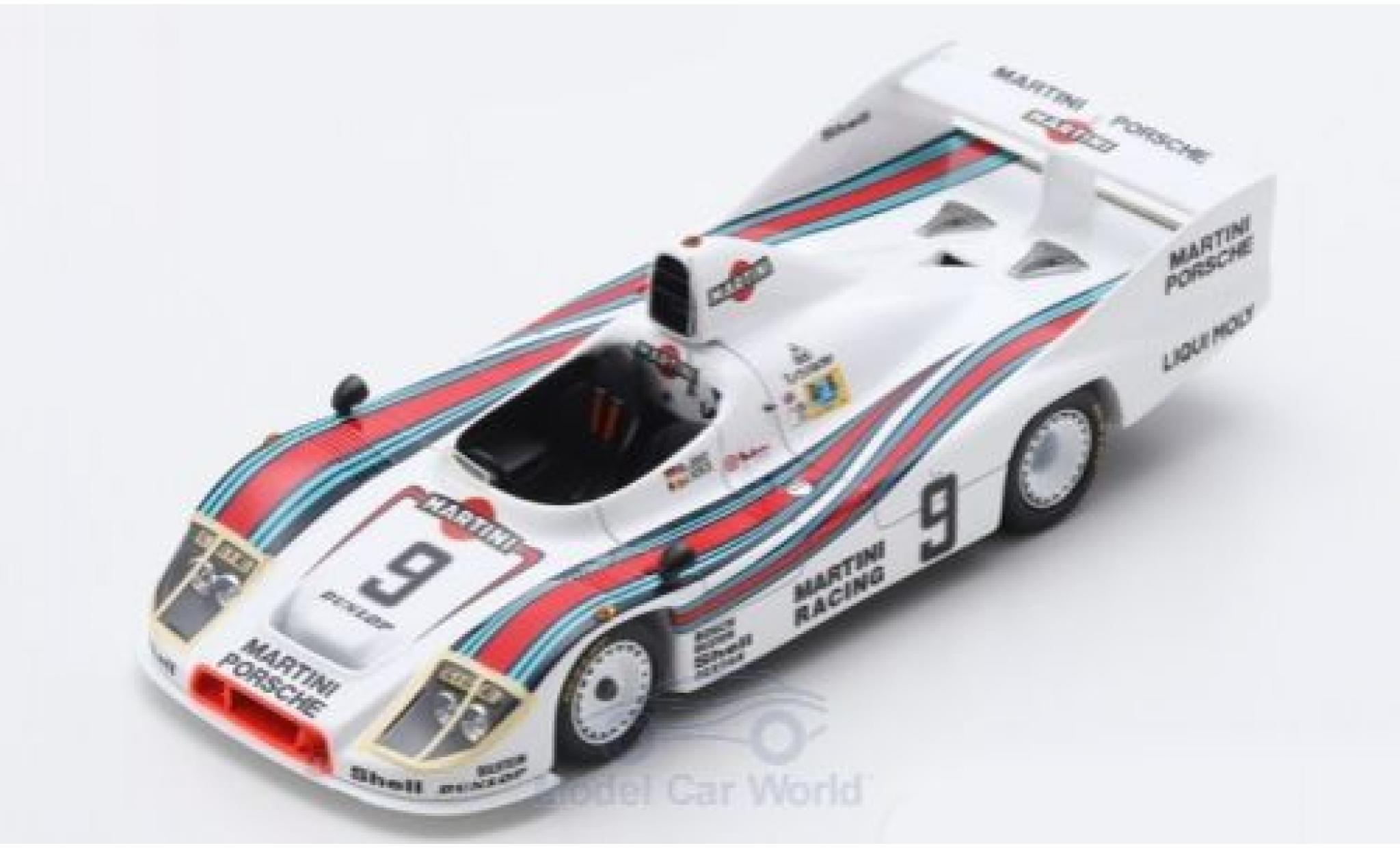 Porsche 908 1/43 Spark /80 RHD No.9 Martini Martini 24h Le Mans 1980 J.Ickx/R.Joest