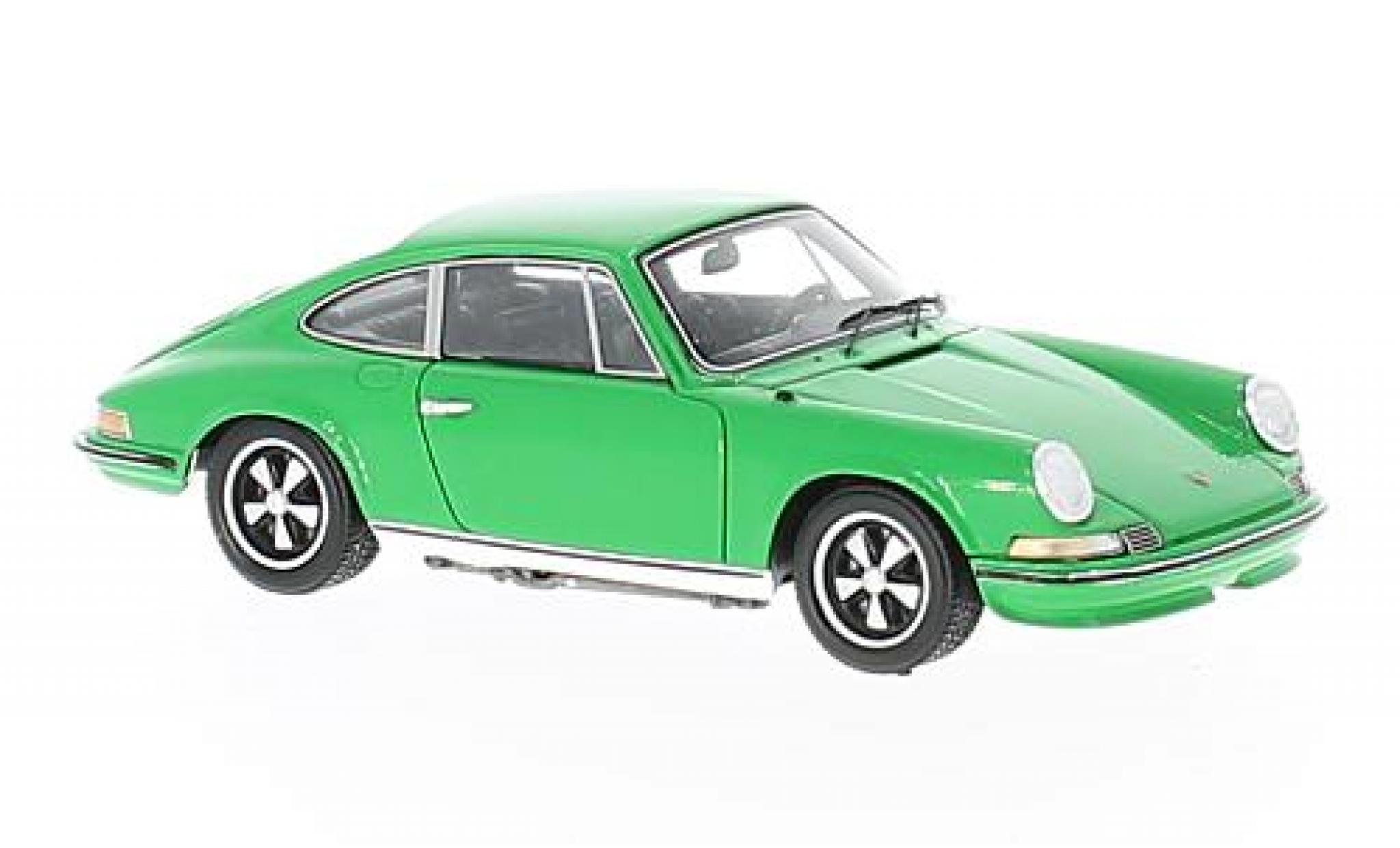 Porsche 911 1/43 Spark 2.4S green 1972
