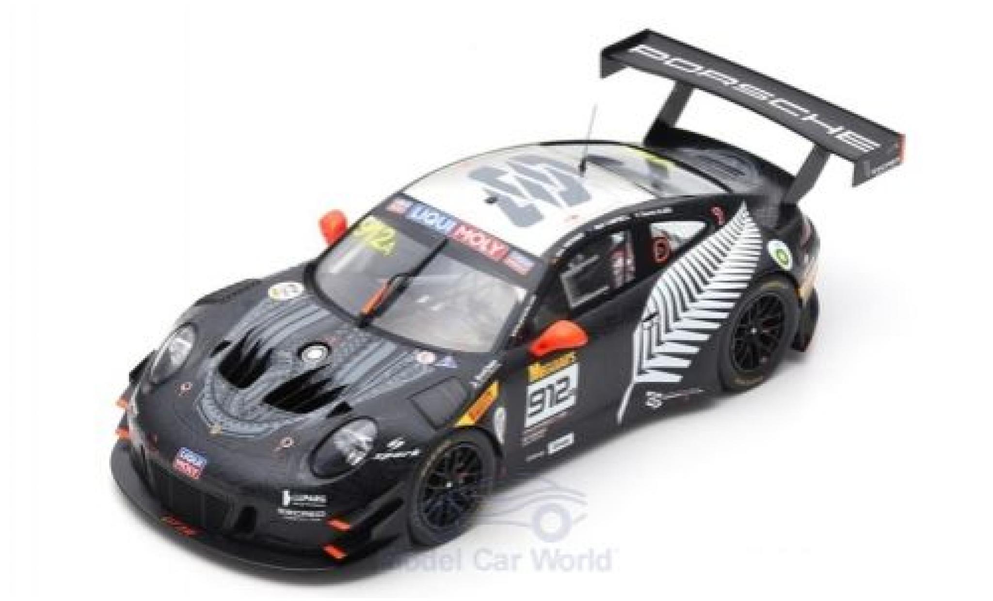 Porsche 992 GT3 R 1/18 Spark 911 (991) No.912 EBM Racing 12h Bathurst 2019 D.Werner/D.Olsen/M.Campbell