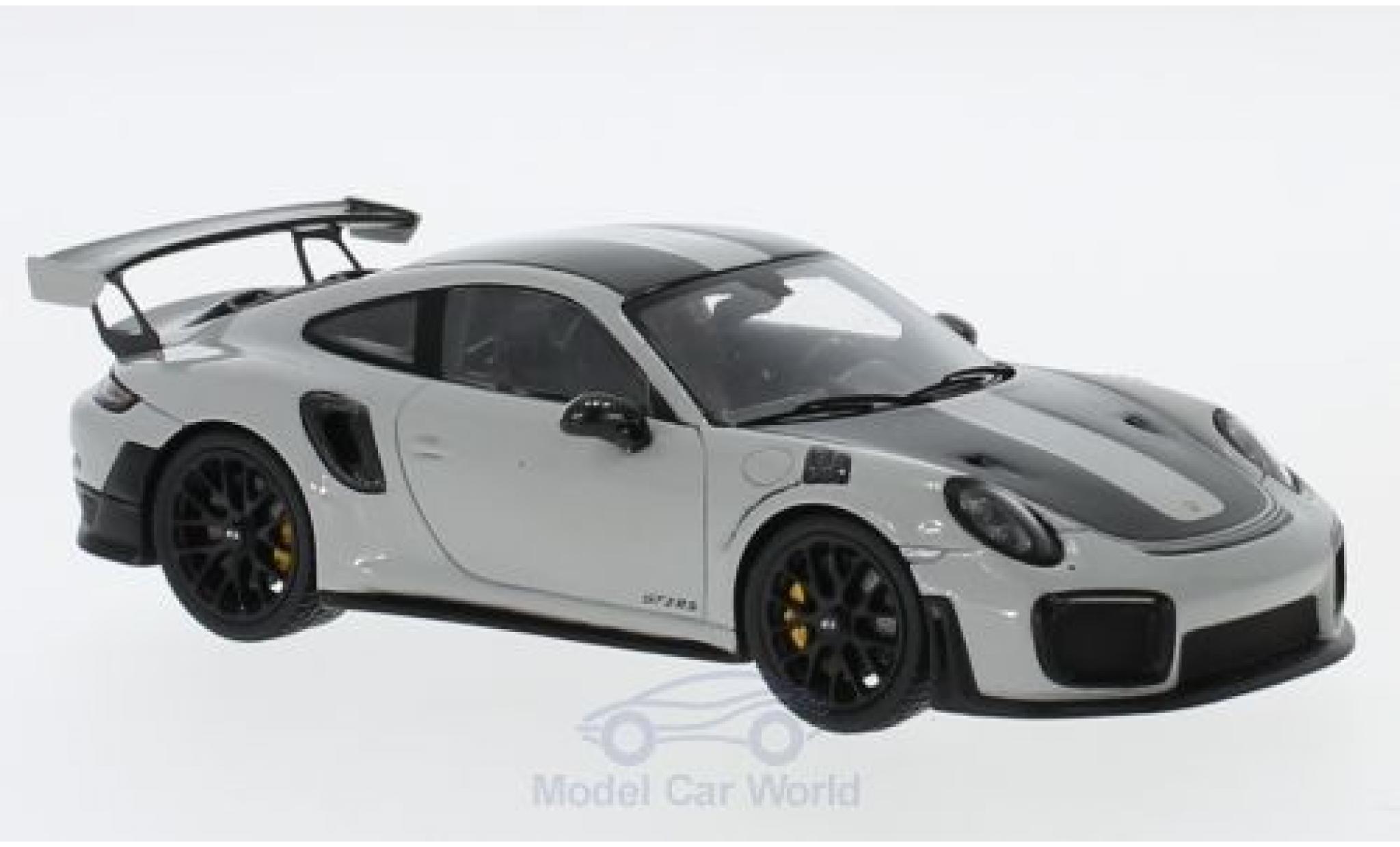 Porsche 991 GT2 RS 1/43 Spark 911 ( II) grey/black 2018 Weissach Package