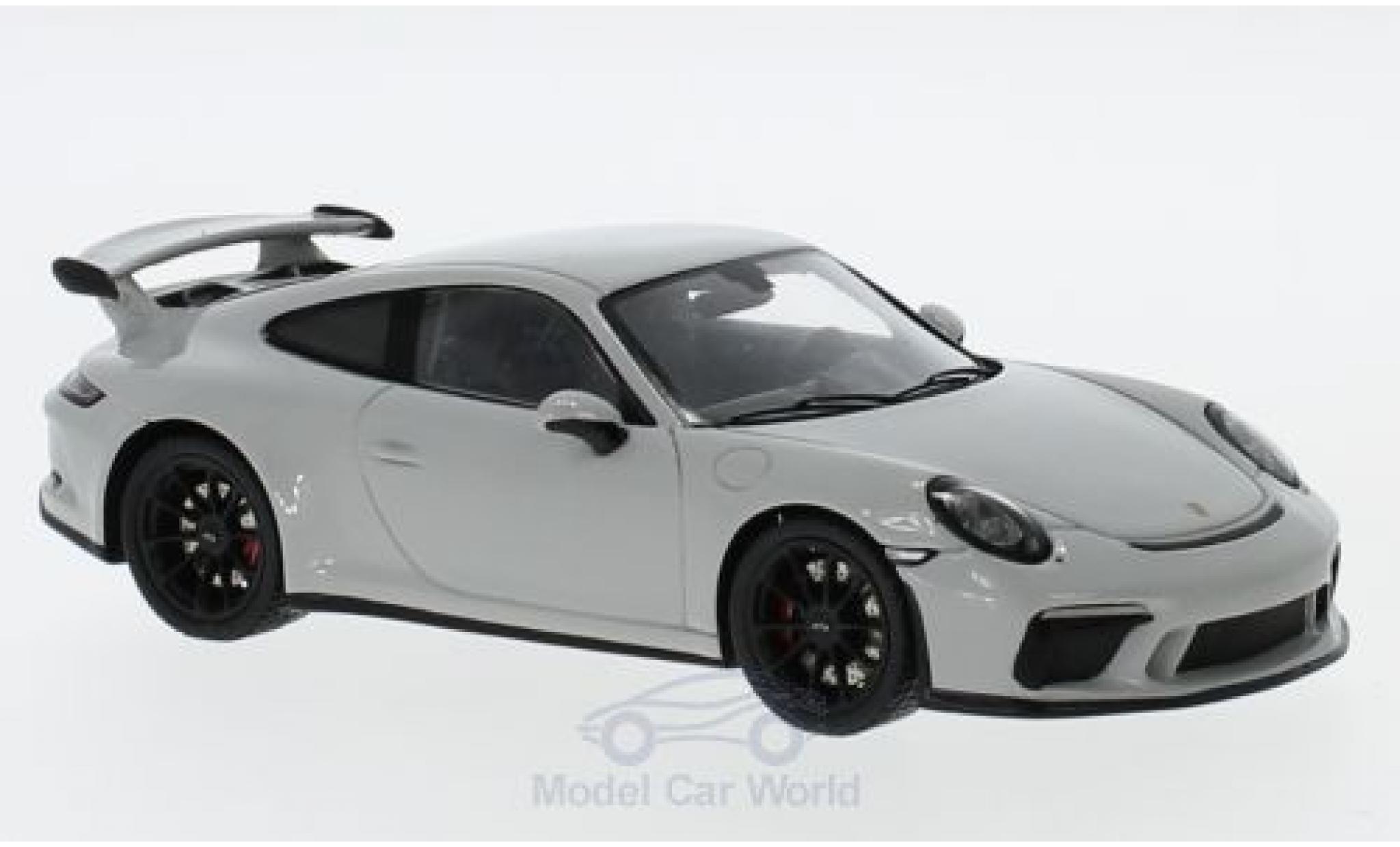 Porsche 991 GT3 1/43 Spark 911 ( II) grey 2018