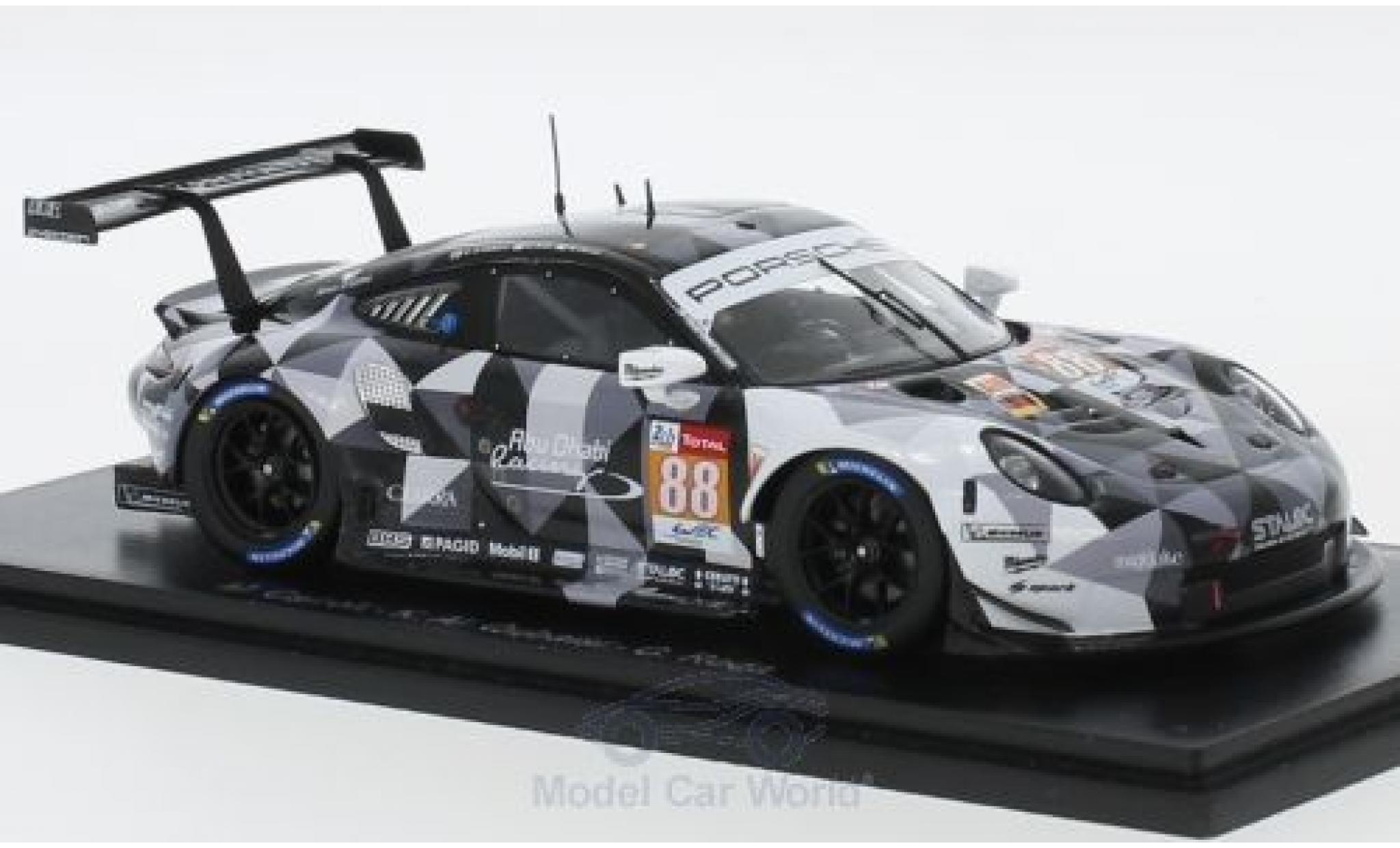 Porsche 991 RSR 1/43 Spark 911  No.88 Dempsey Predon Racing 24h Le Mans 2018 M.Cairoli/K.Al Qubaisi/G.Roda