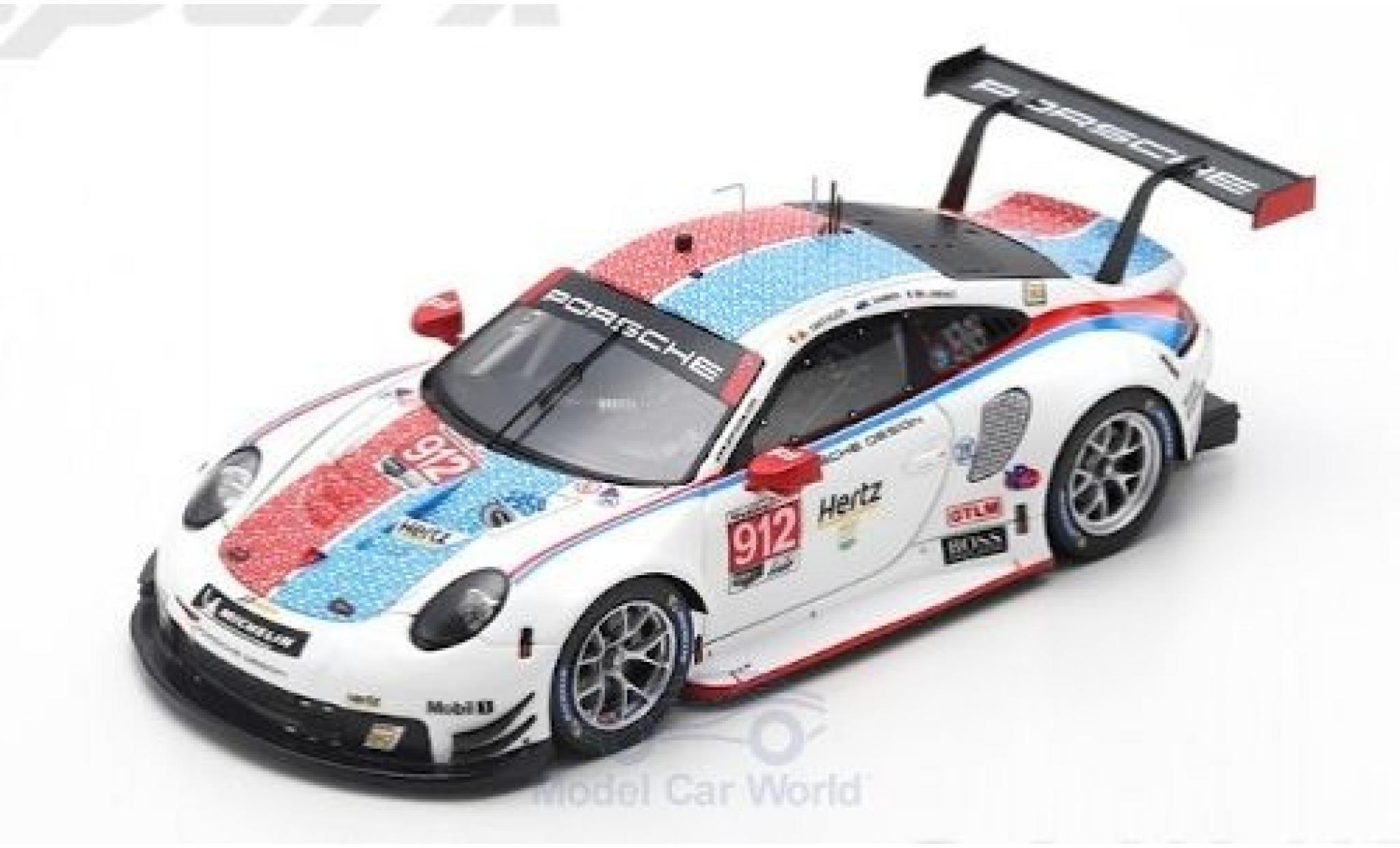 Porsche 911 1/43 Spark (991) RSR No. GT Team 24h Daytona 2019 P.Pilet/N.Tandy/F.Makowiecki