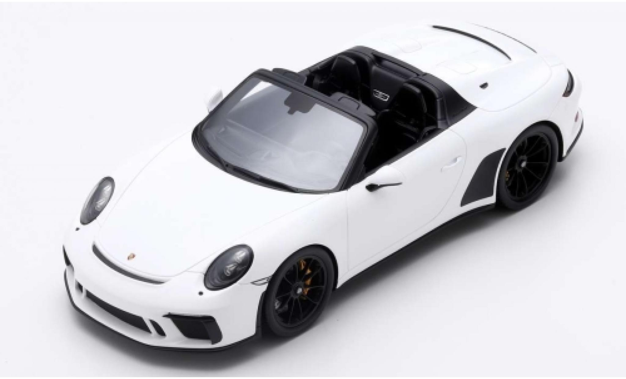 Porsche 992 Speedster 1/18 Spark 911 (991) white 2019