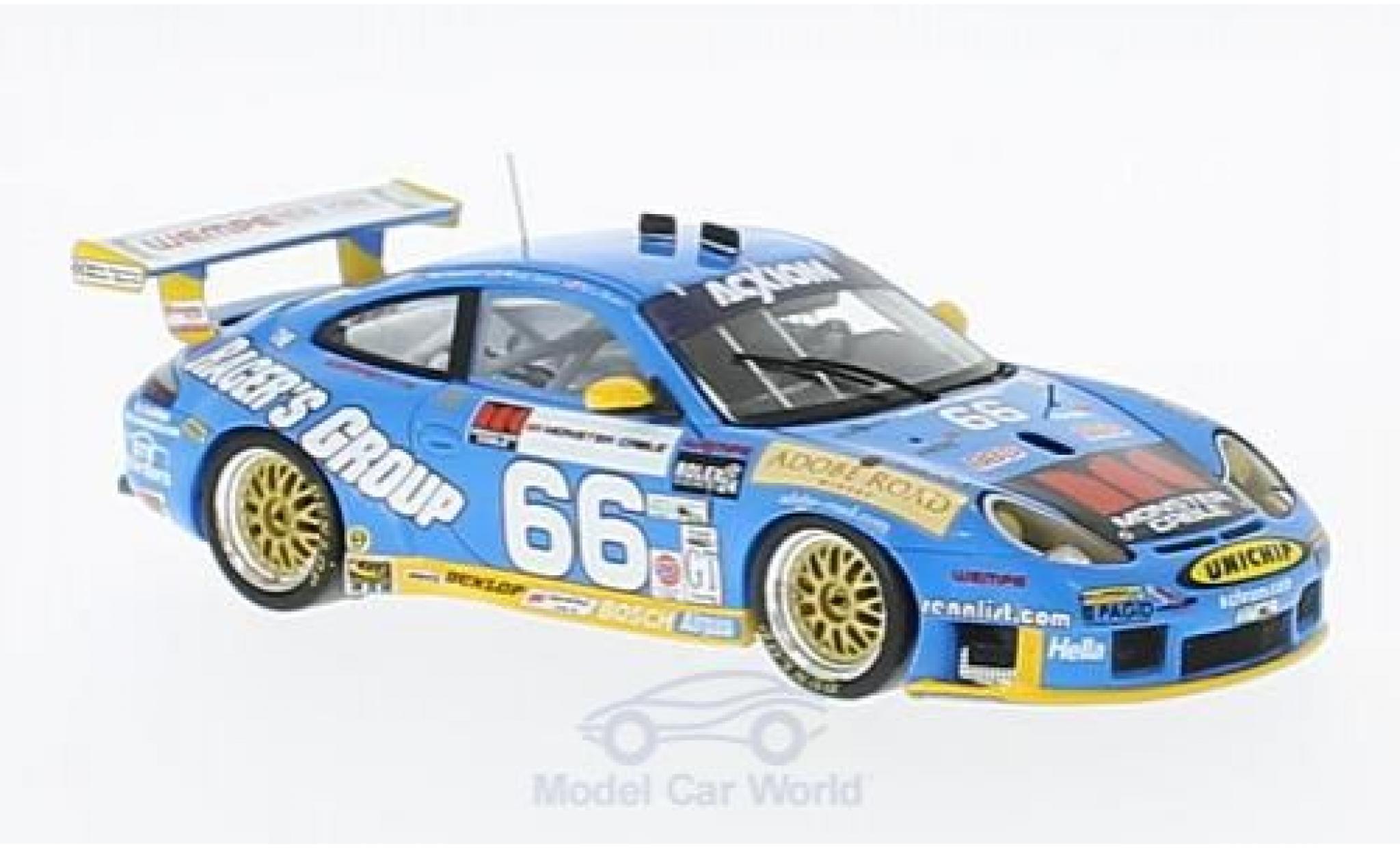 Porsche 996 GT3 RS 1/43 Spark 911  No.66 The Racers Group 24h Daytona 2003 J.Bergmeister/T.Bernhard/M.Schrom/K.Buckler