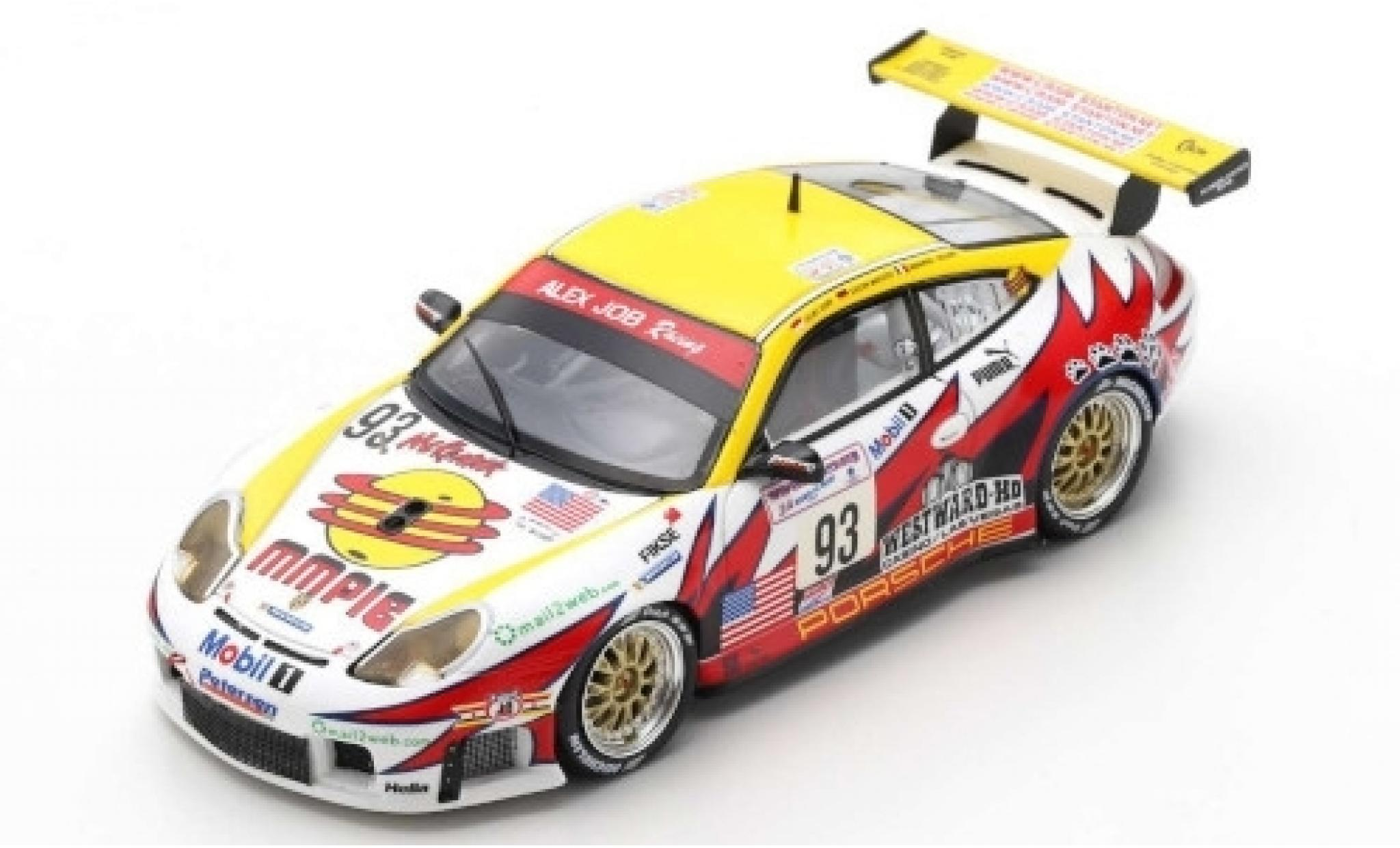 Porsche 996 GT3 RS 1/43 Spark 911  No.93 Alex Job Racing 24h Le Mans 2003 E.Collard/L.Luhr/S.Maassen