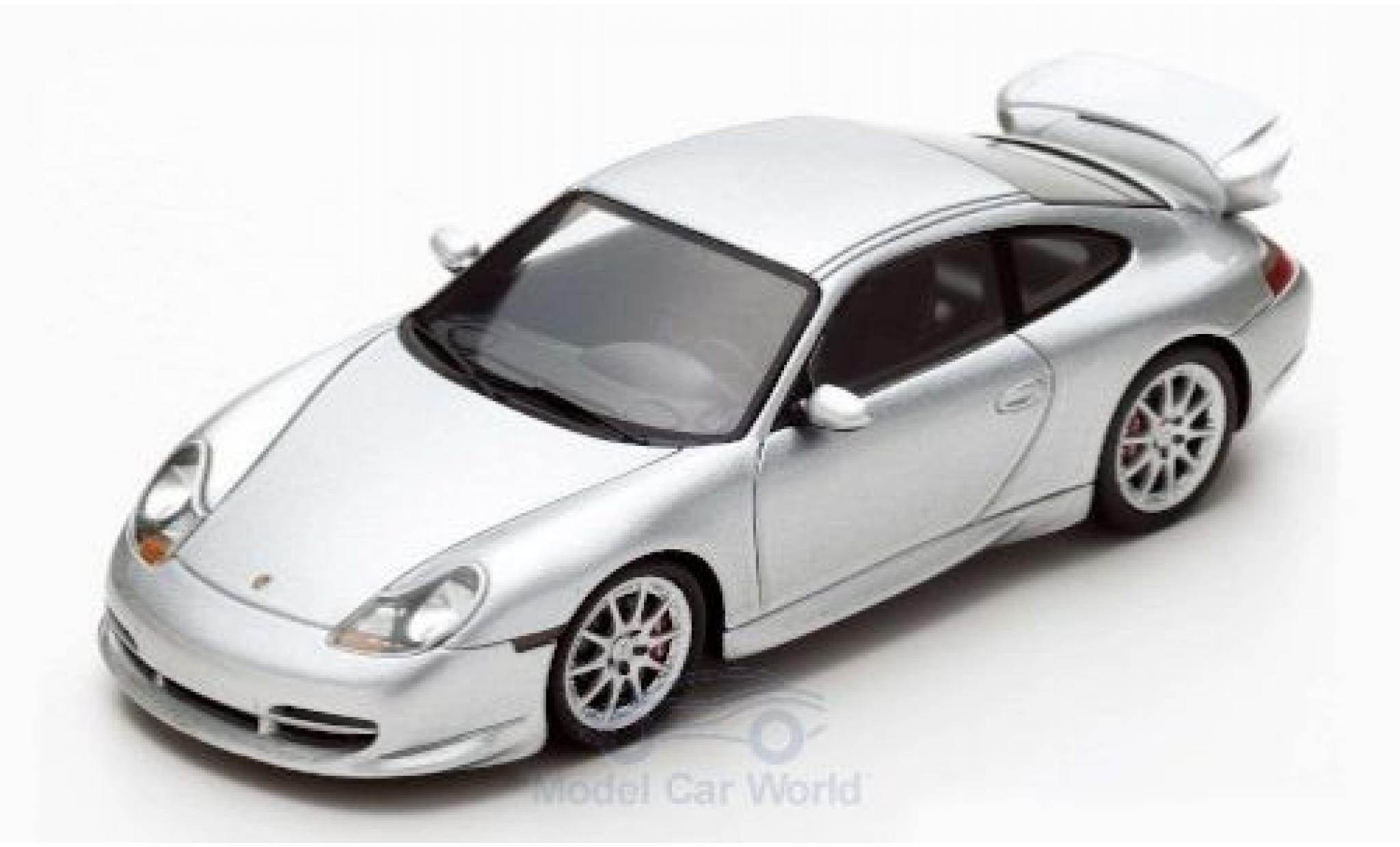 Porsche 996 GT3 1/43 Spark 911  grise 1999