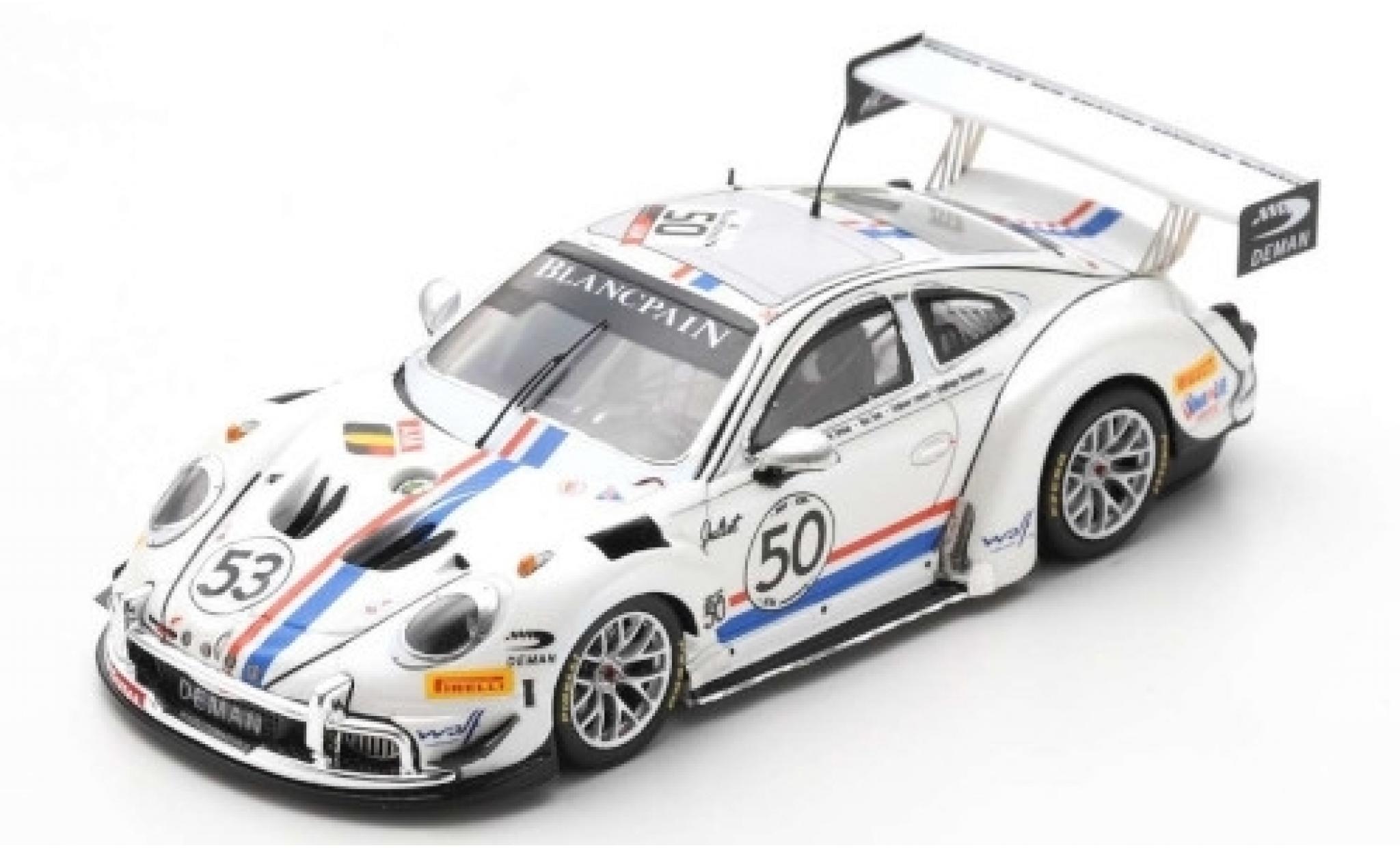 Porsche 992 GT3 1/43 Spark 911 (997) Cup MR No.50 24h Spa 2019 1969 Tribute L.Deman/S.Lemeret/M.Duez/A.Detavernier