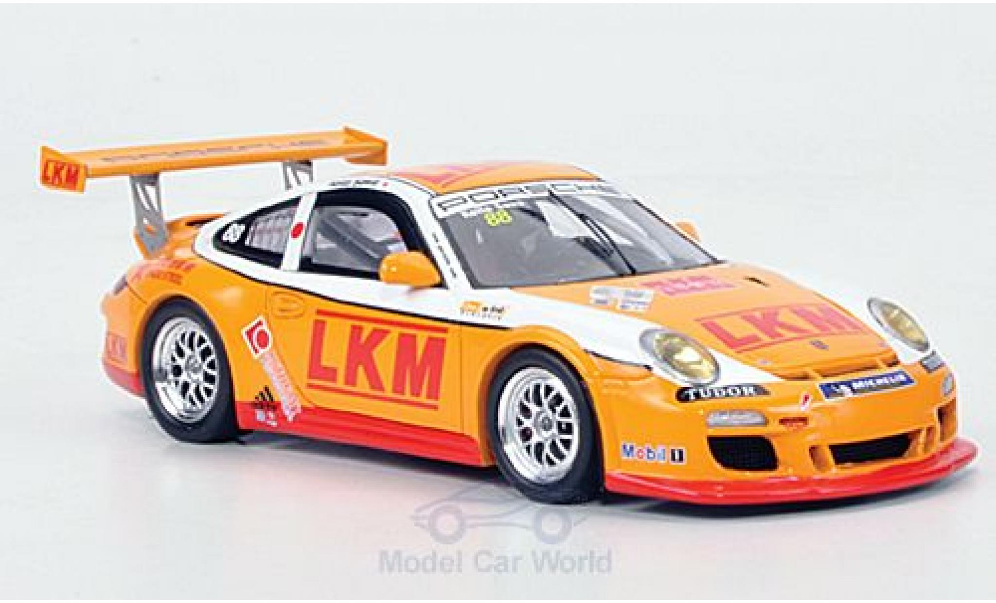 Porsche 997 GT3 CUP 1/43 Spark 911  GT3 Cup No.88 LKM Carrera Cup Asia 2011