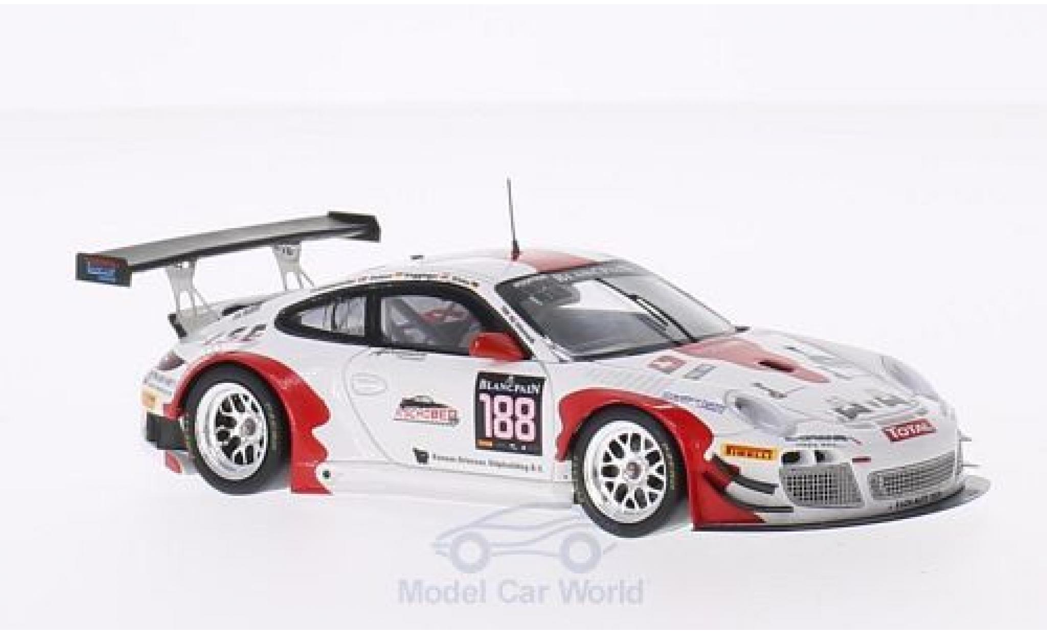 Porsche 997 SC 1/43 Spark (997) GT3 R No.188 Fach Auto Tech 24h Spa 2014 O.Klohs/M.Ragginger/P.Frommenwiler/S.Dolenc