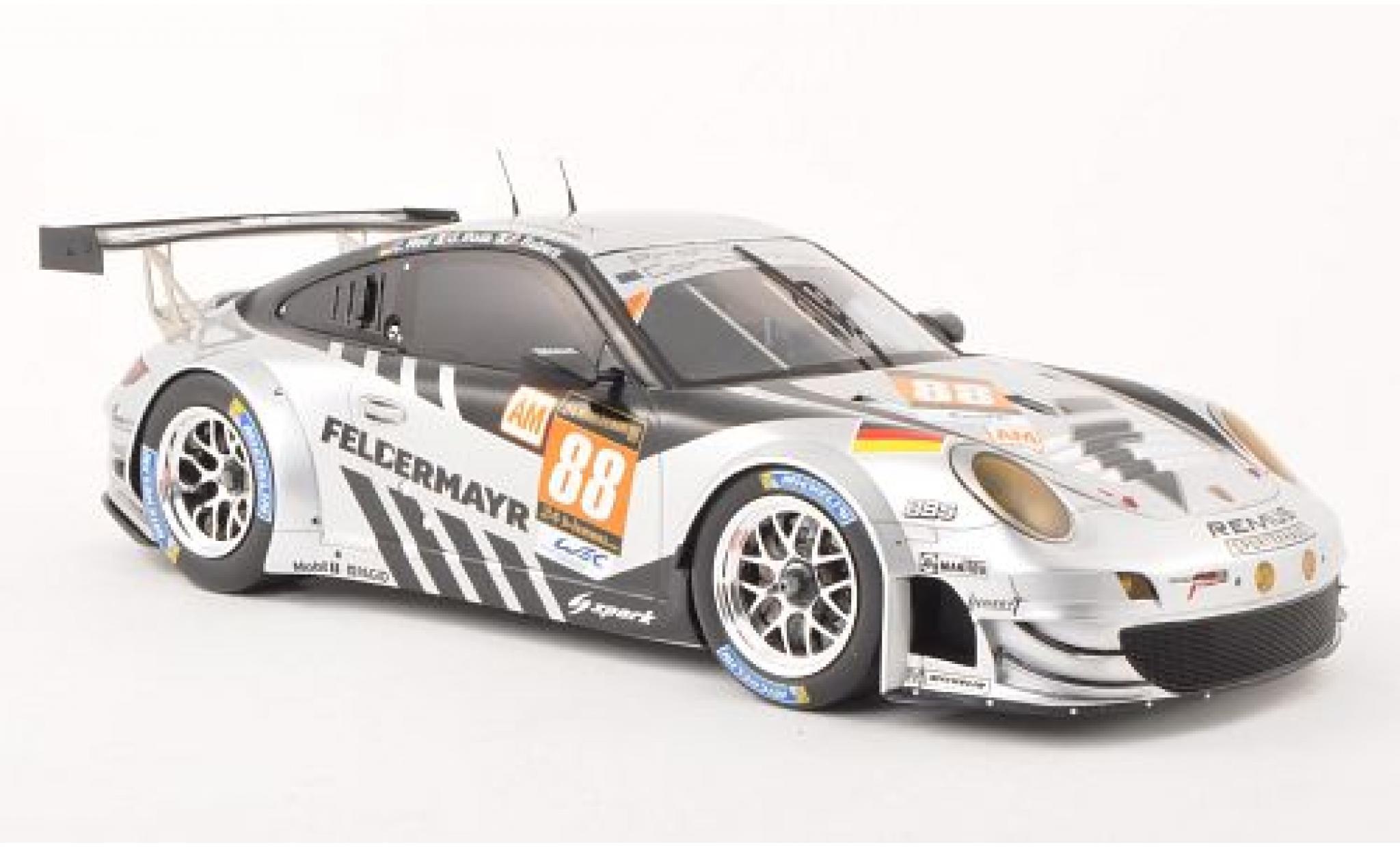 Porsche 991 RSR 1/18 Spark 911 (997) GT3 No.88 Predon Competition 24h Le Mans 2013 capos et les portes fermé C.Ried/G.Roda/P.Ruberti