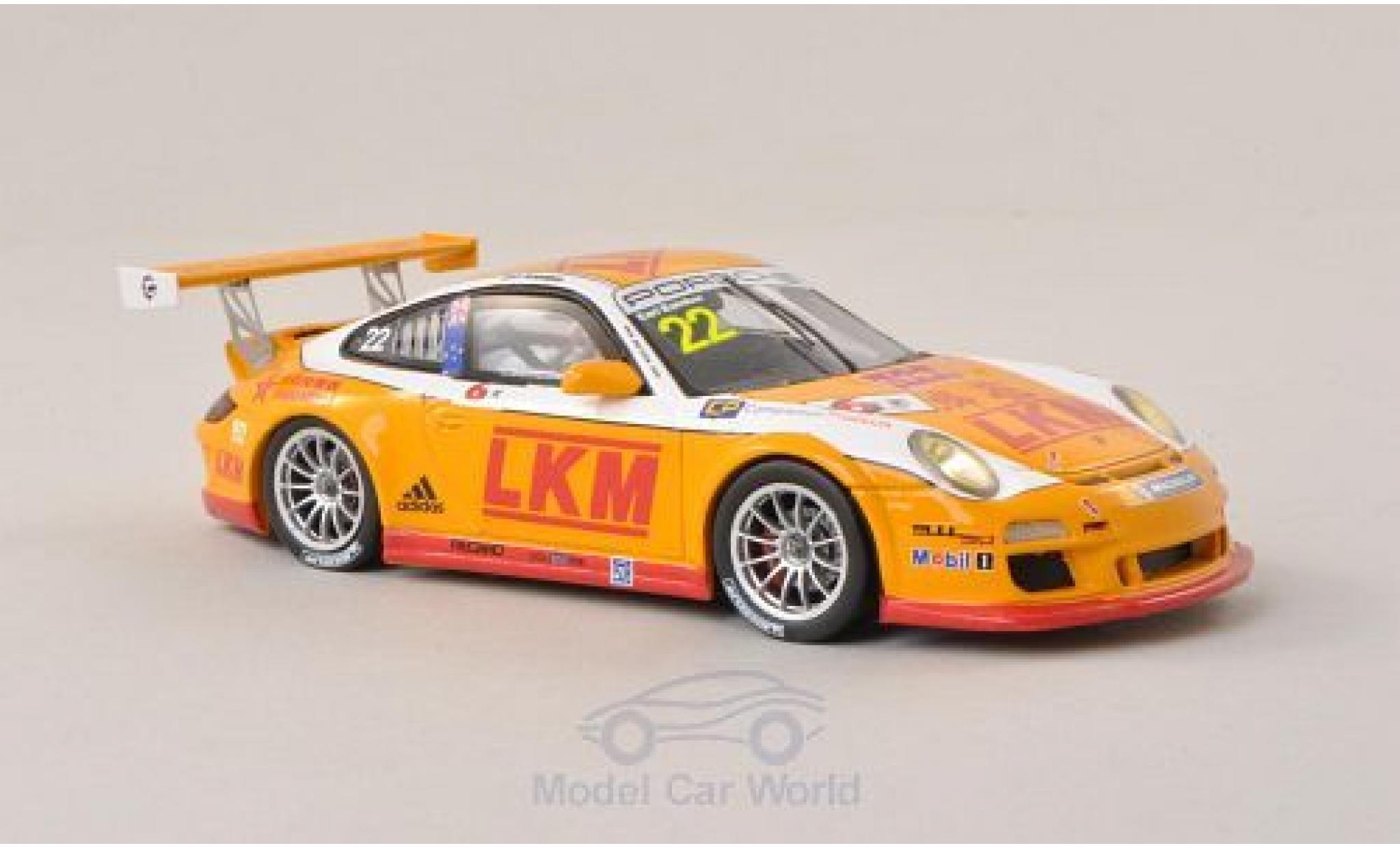 Porsche 997 SC 1/43 Spark (997) No.22 Asian Carrera Cup GT3 Cup Challenge - Maccao 2013 E.Bamber