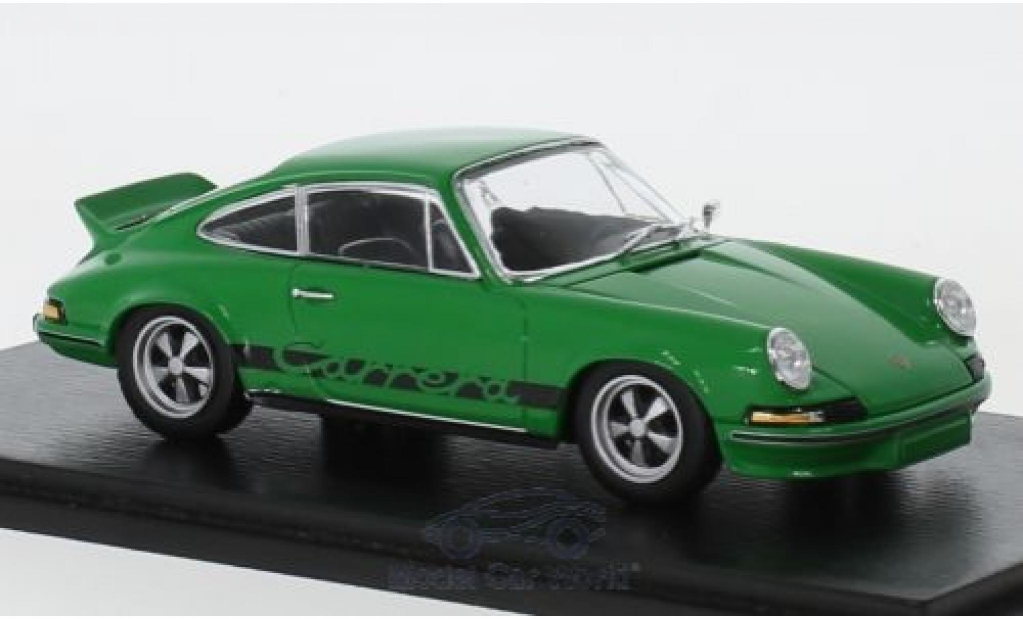 Porsche 911 RS 1/43 Spark Carrera 2.7 green 1973
