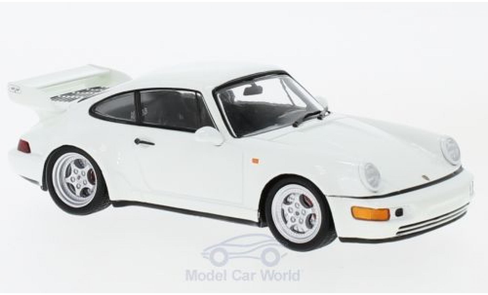 Porsche 993 RS 1/43 Spark 911 Carrera 3.8 white 1