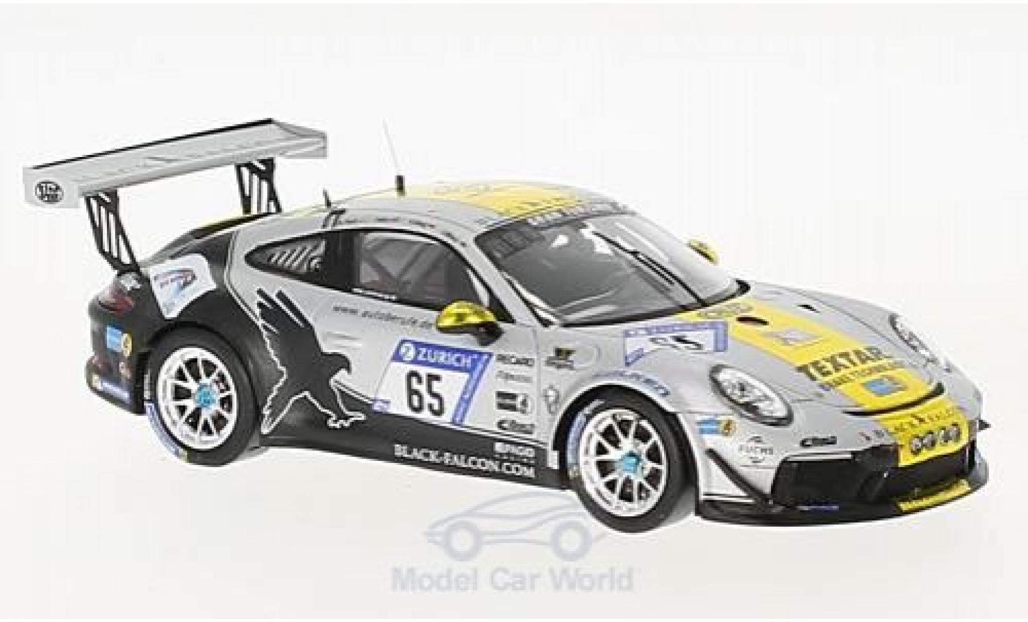 Porsche 991 GT3 1/43 Spark 911 No.65 Black Falcon Team TMD Friction 24h Nürburgring 2017 J.Bleul/S.Karg/Takis/A.Toril