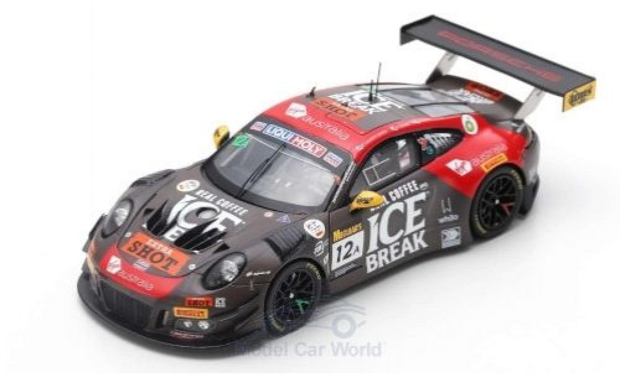 Porsche 992 GT3 R 1/43 Spark 911 No.12 Competition Motorsports/McElrea Racing 12h Bathurst 2019 D.Calvert-Jones/K.Estre/J.Evans