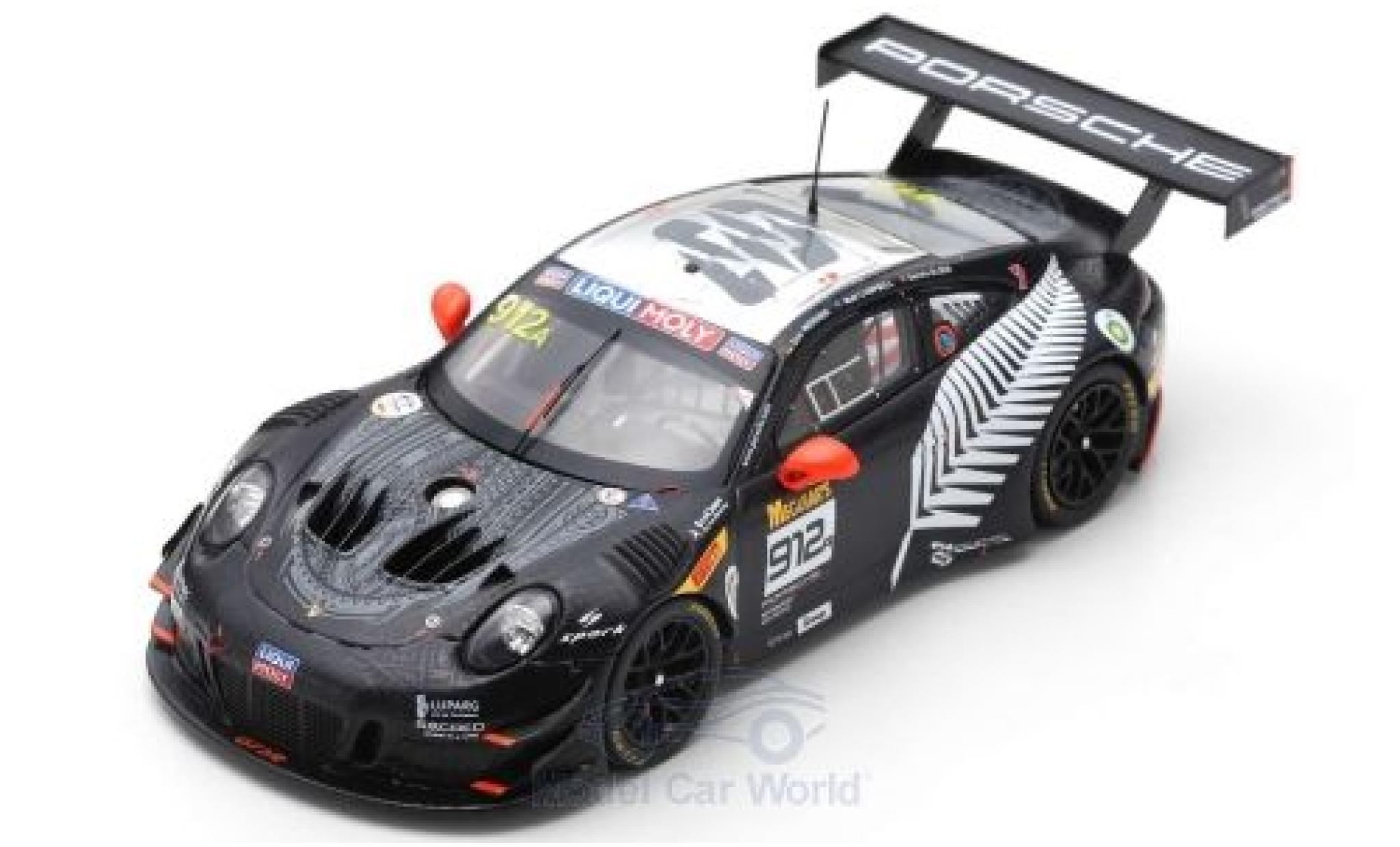 Porsche 911 1/43 Spark GT3 R No.912 EBM 12h Bathurst 2019 D.Werner/D.Olsen/M.Campbell