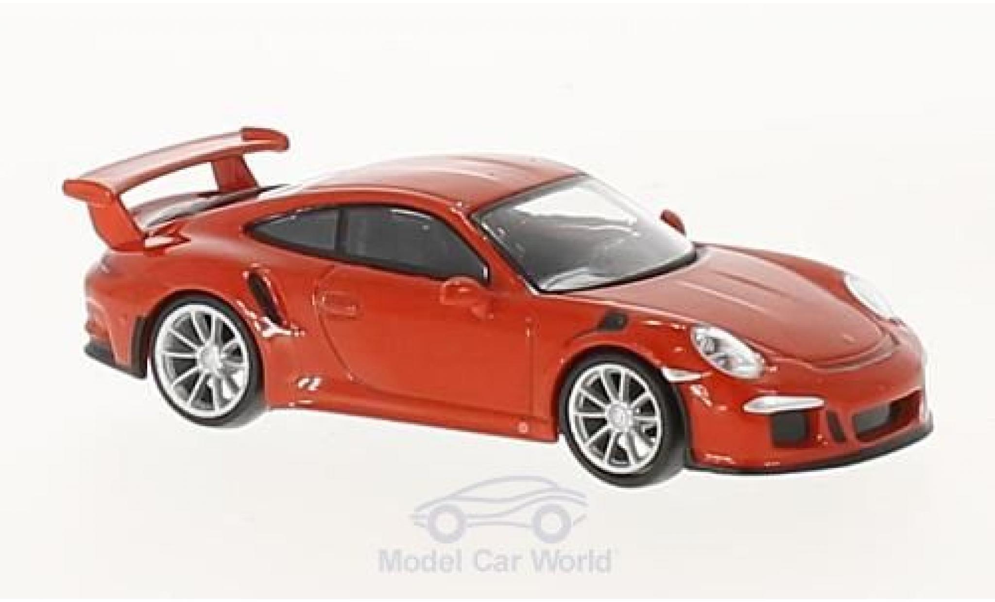 Porsche 911 1/64 Spark GT3 RS orange 2016
