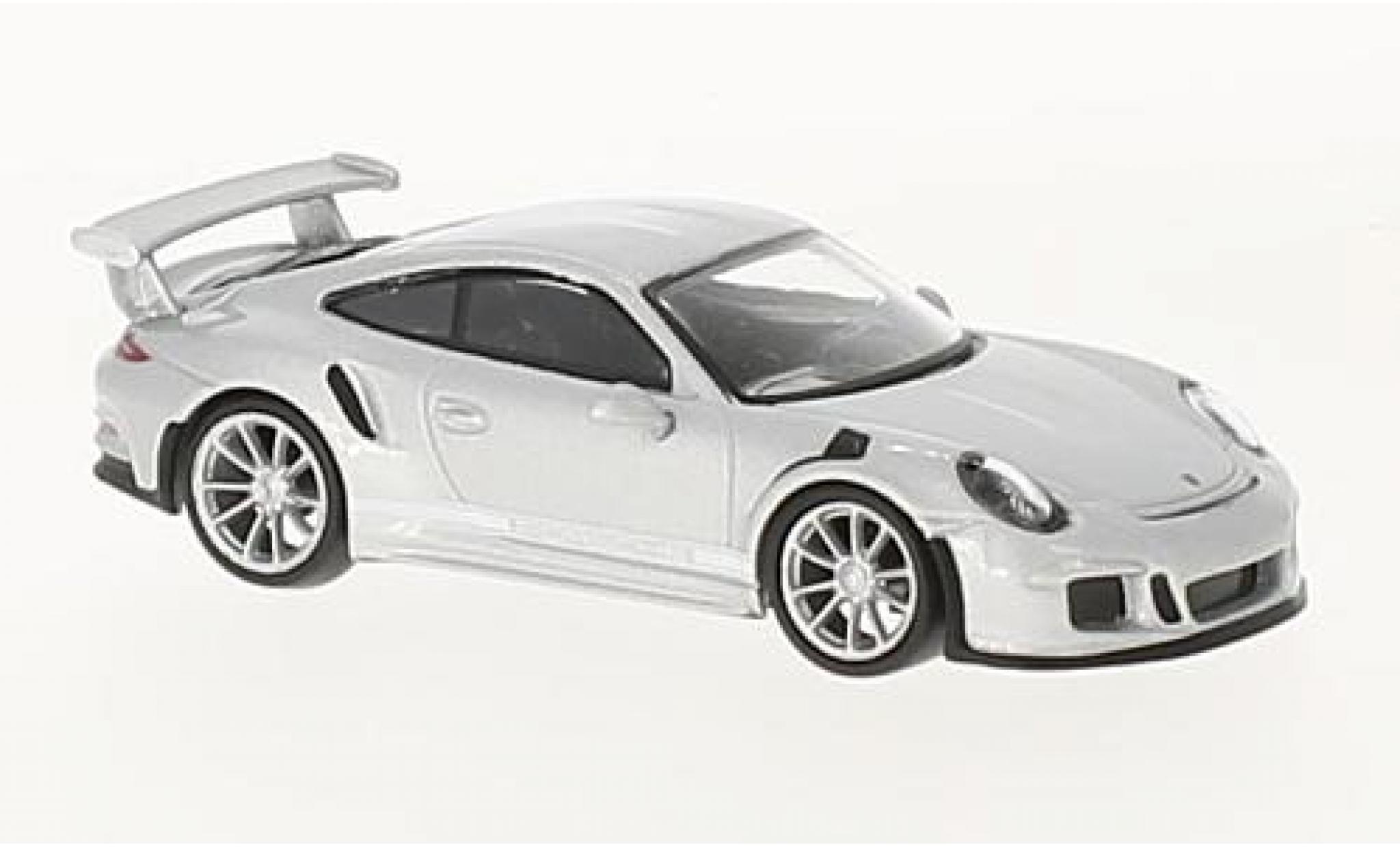 Porsche 991 GT3 RS 1/64 Spark 911 grey 2016