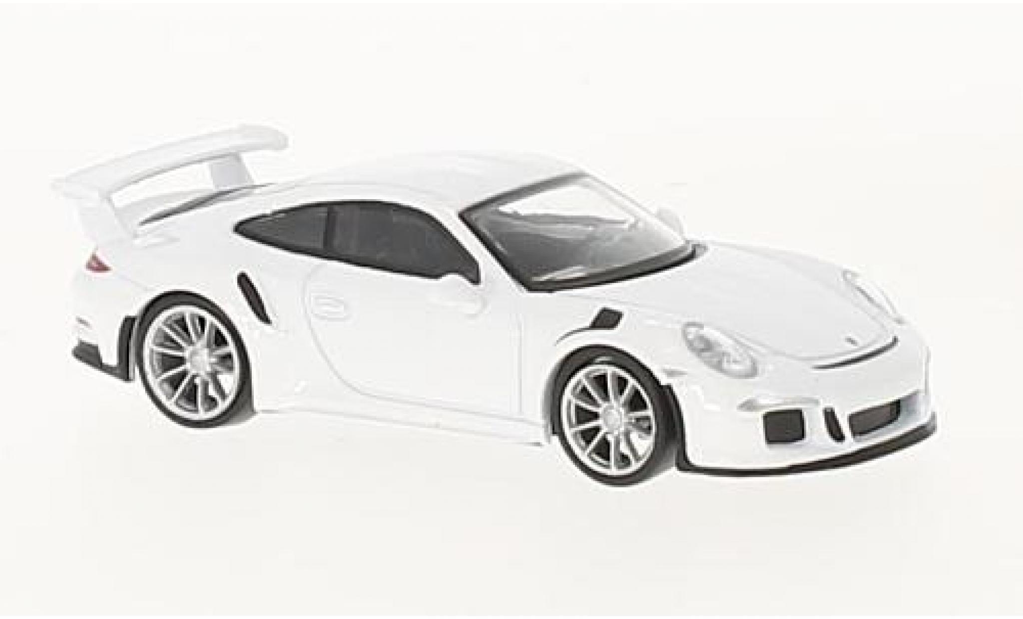 Porsche 991 GT3 RS 1/64 Spark 911 white 2016